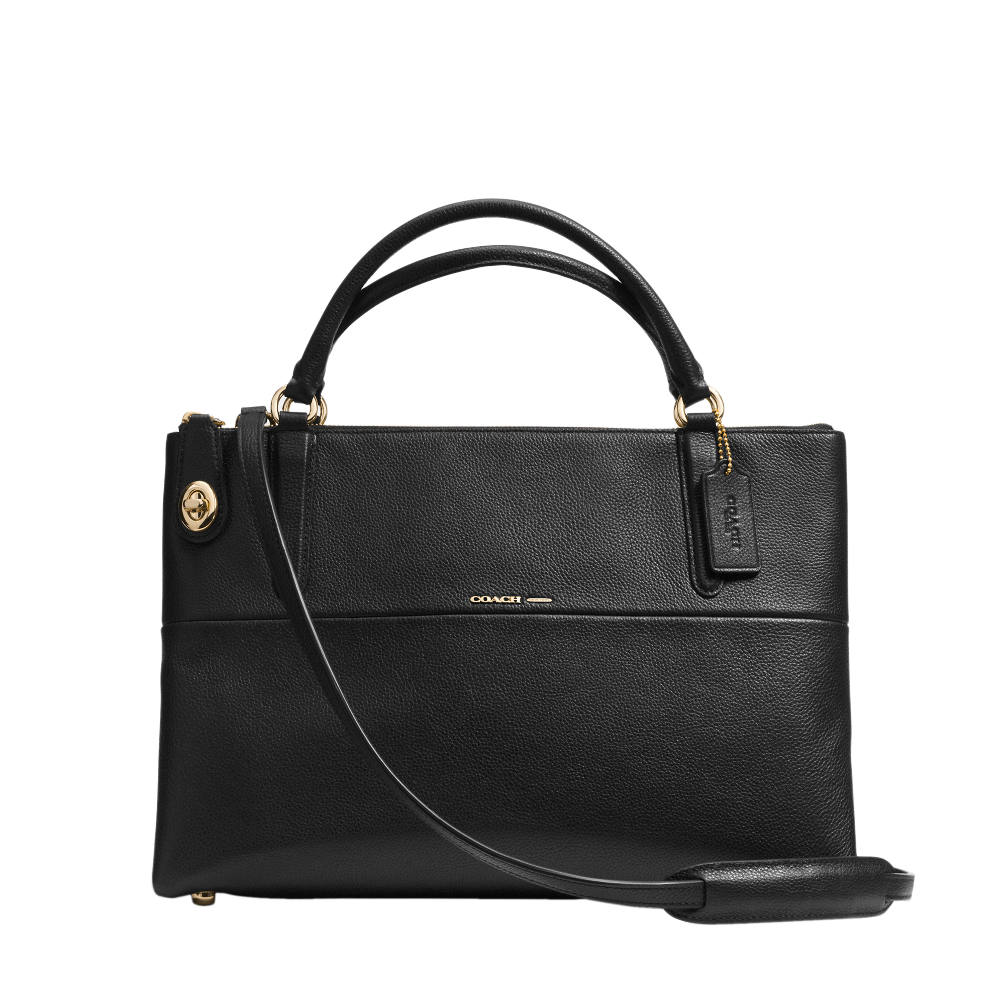 Coach Borough Bag in Black | Lyst