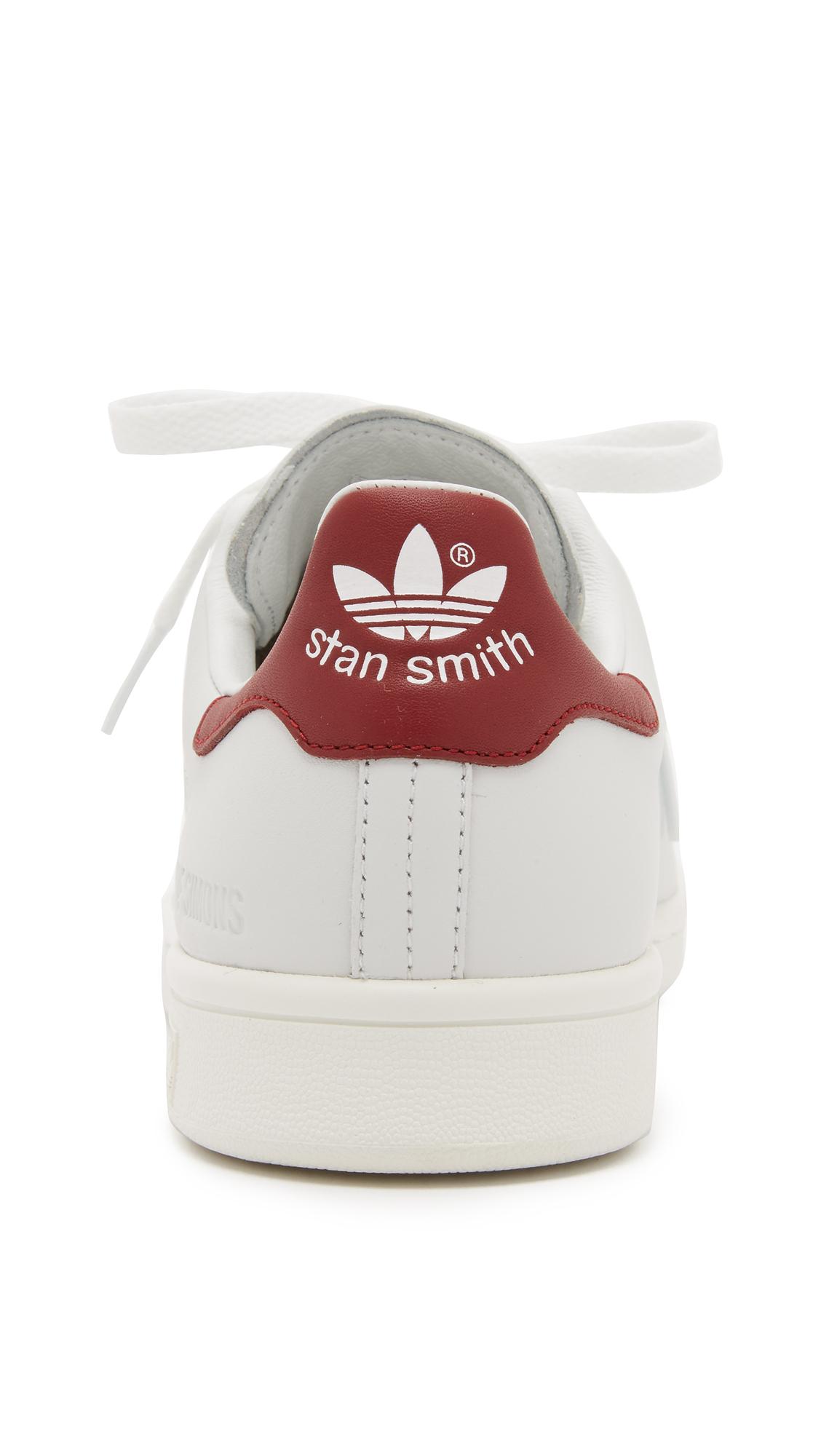 adidas stan smith rosse vintage