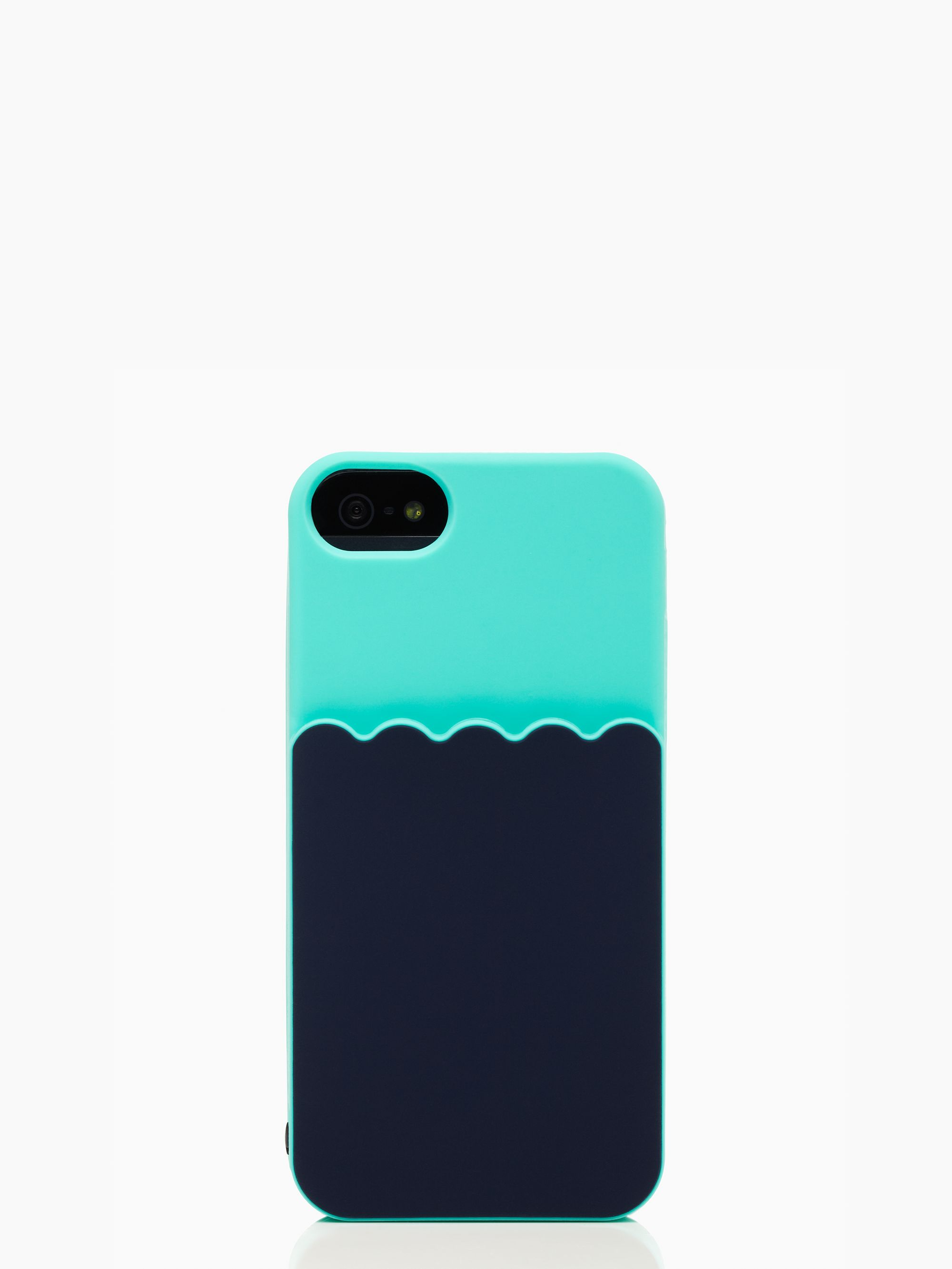 Kate spade new york Scallop Pocket Iphone 5 Case in Blue : Lyst