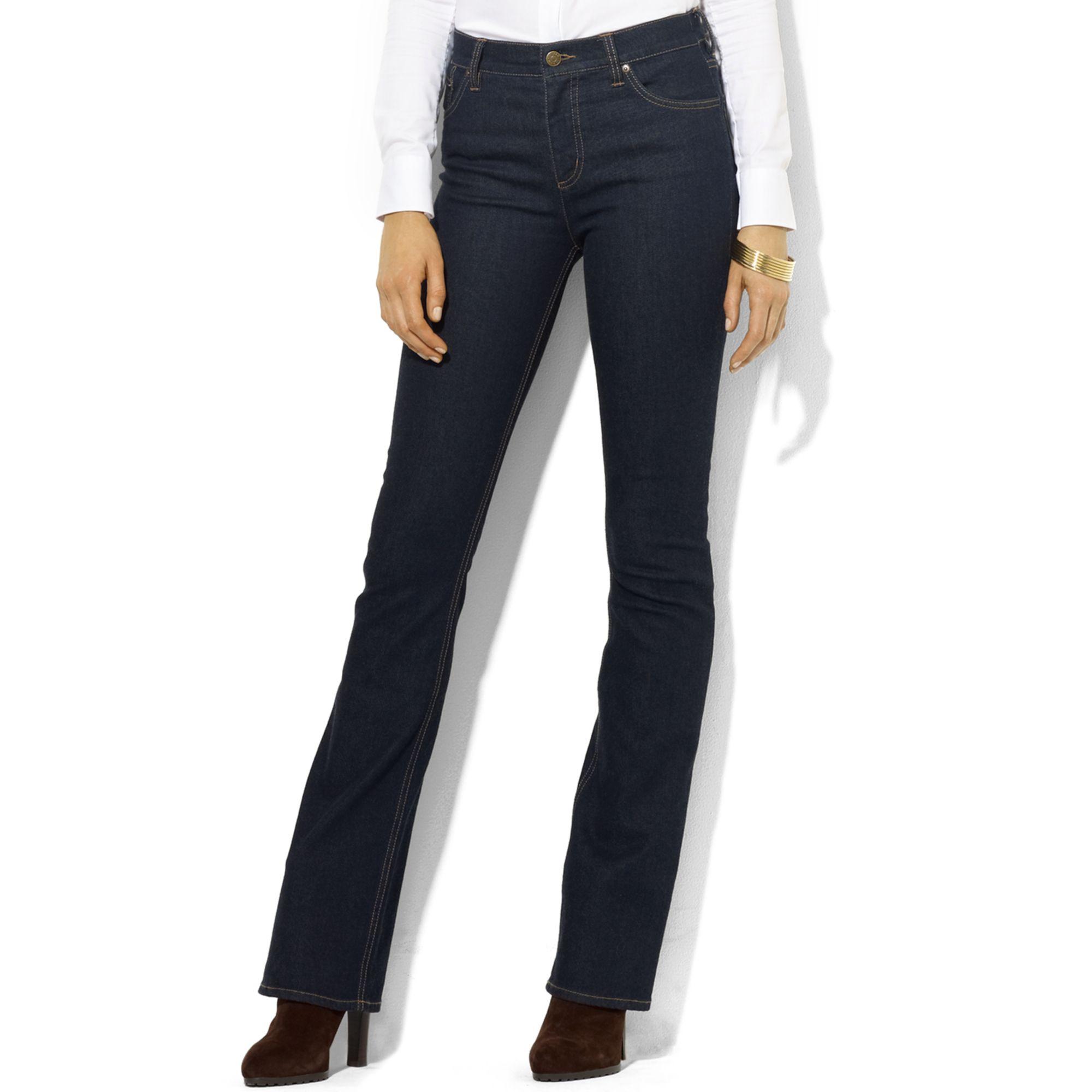 lauren by ralph lauren lauren jeans co stretch bootcut. Black Bedroom Furniture Sets. Home Design Ideas
