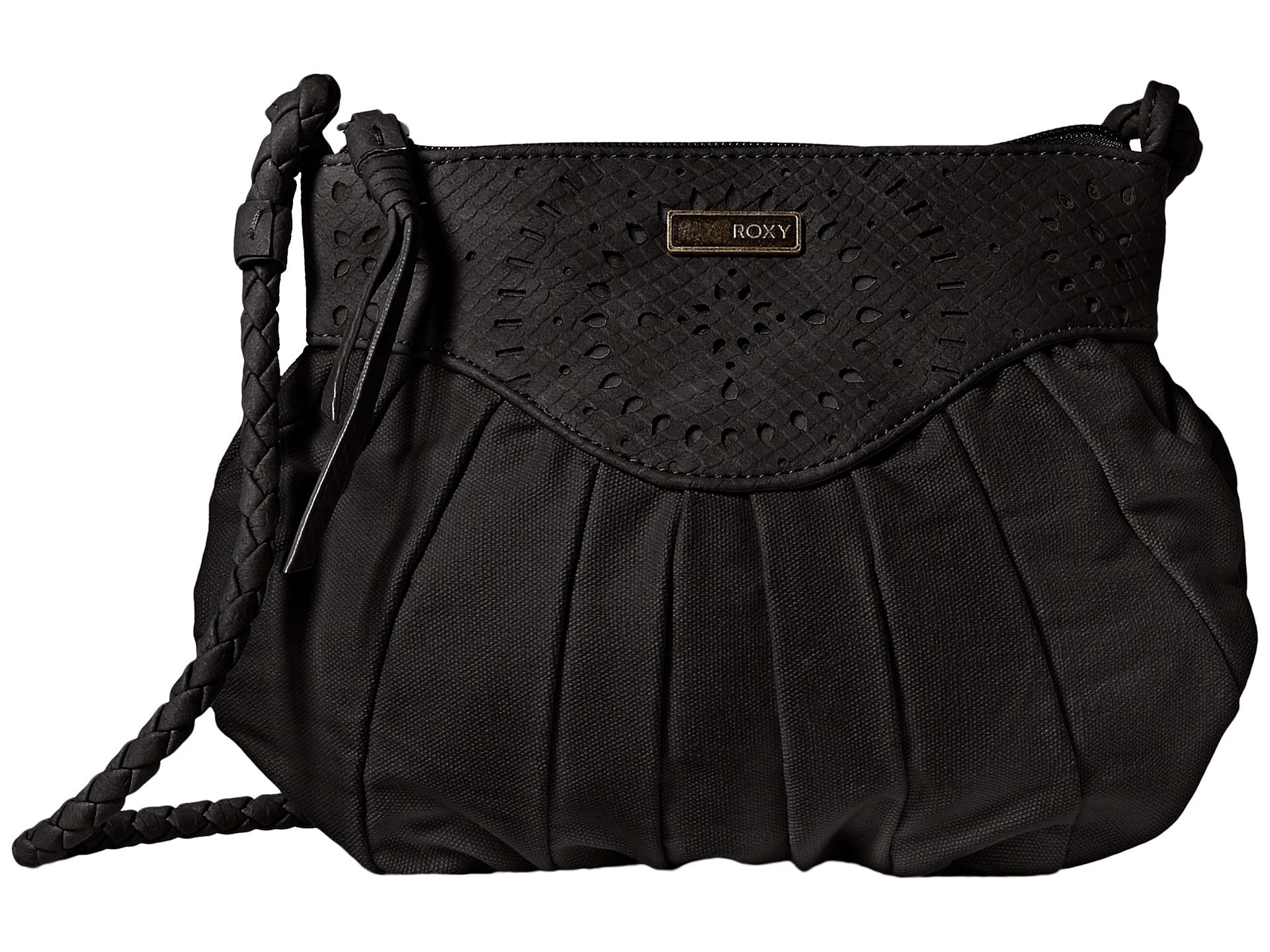 Roxy Eventide Crossbody Bag In Black Lyst