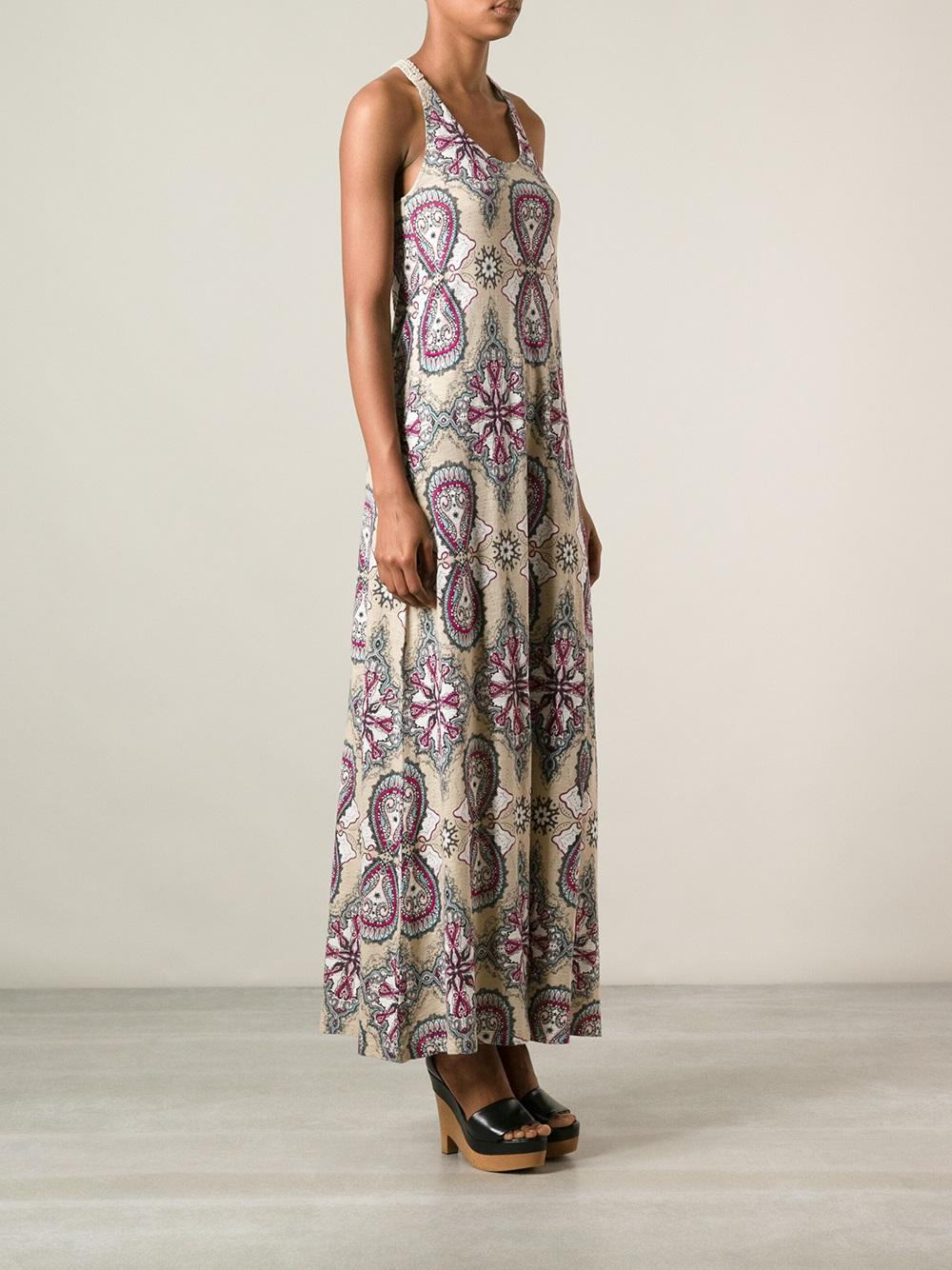 369b2a2bf301 Odd Molly Missrs Printed Maxi Dress - Lyst