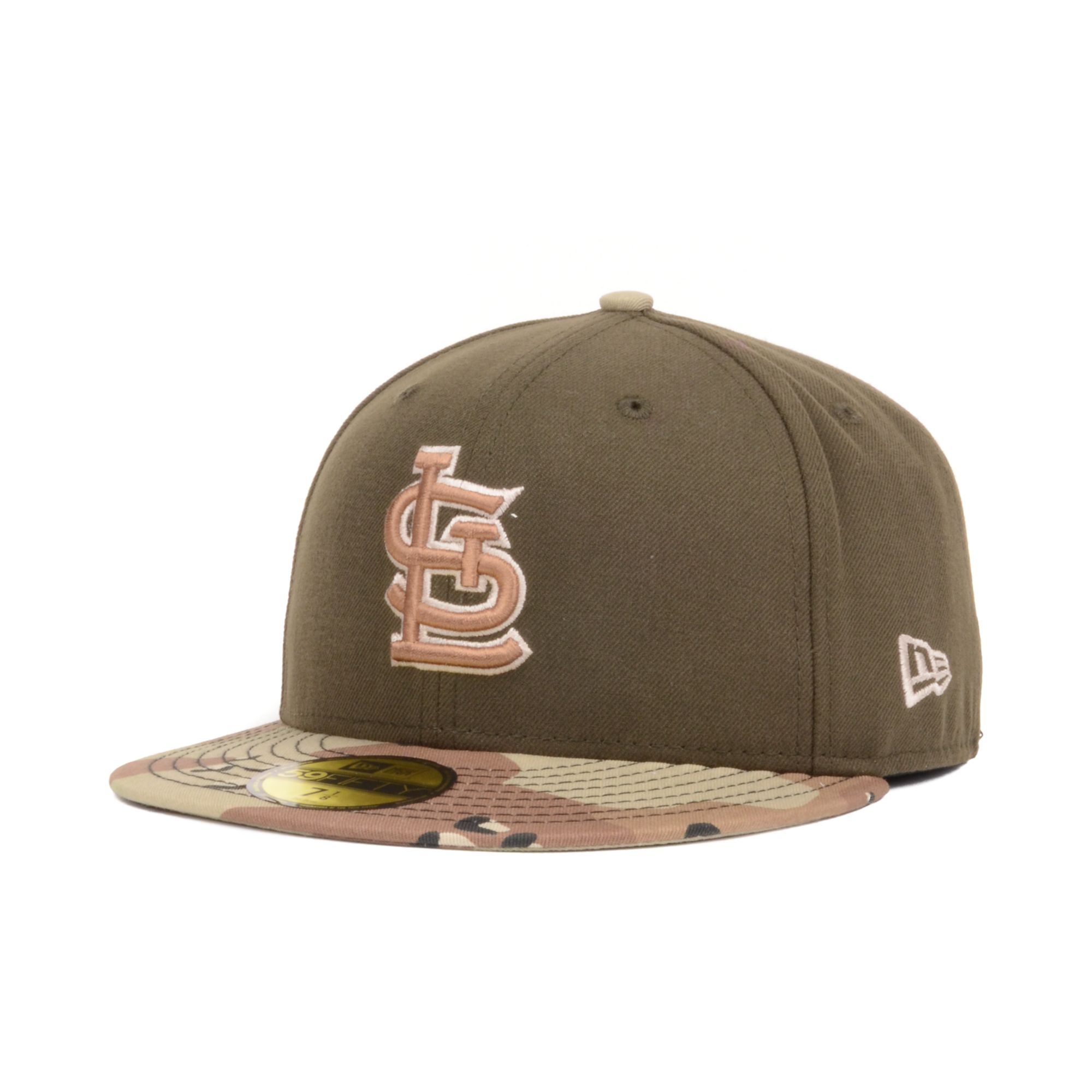 014c7e12b705f ... coupon code lyst ktz st louis cardinals mlb 6day 2 tone 59fifty cap in  brown for