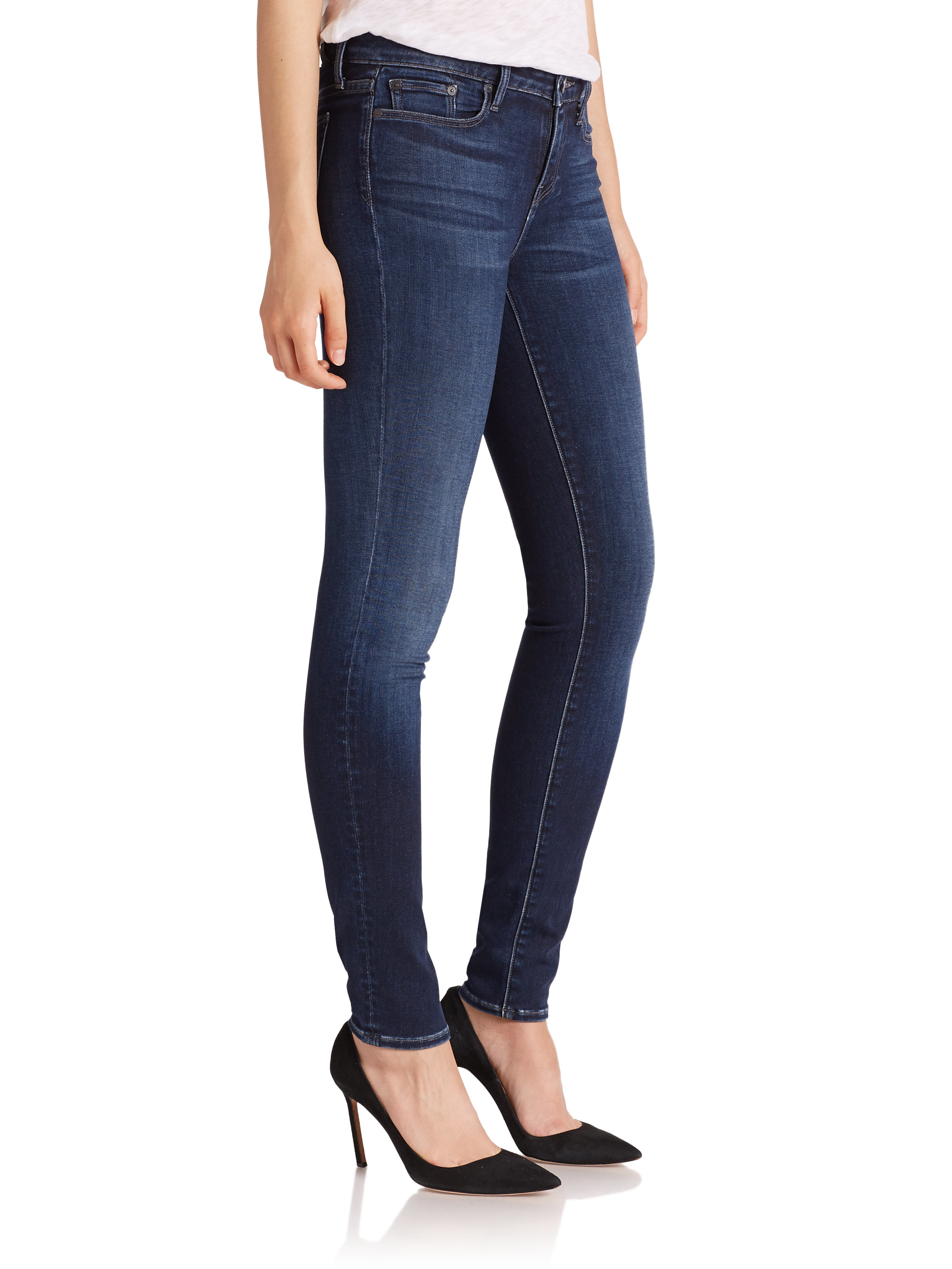 cfdc243def662b Vince Riley Skinny Jeans in Blue - Lyst