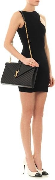 saint handbag - Saint Laurent Monogramme Large Quilted Leather Shoulder Bag ...