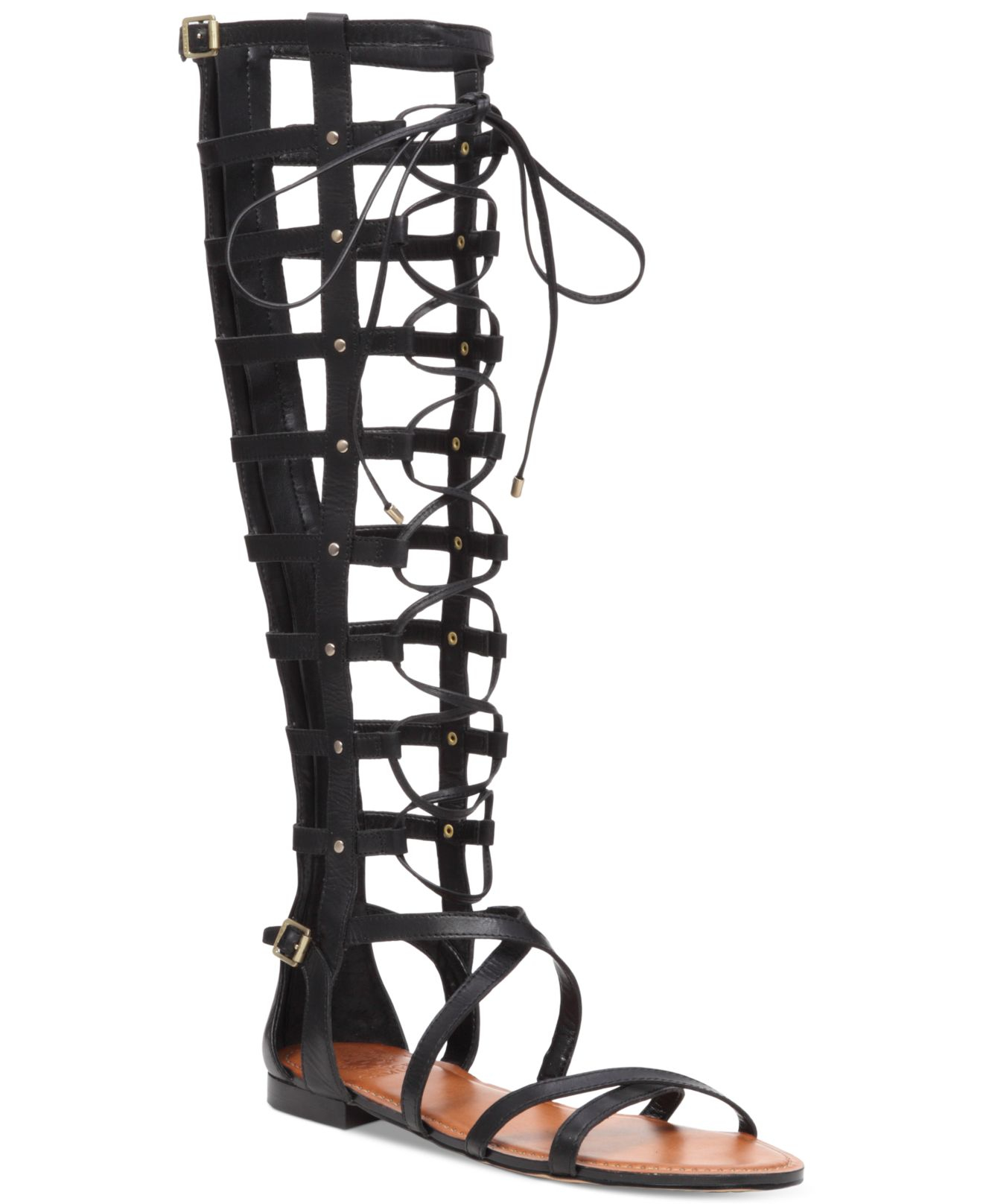 Vince Camuto Mesta Gladiator Sandals In Black Lyst