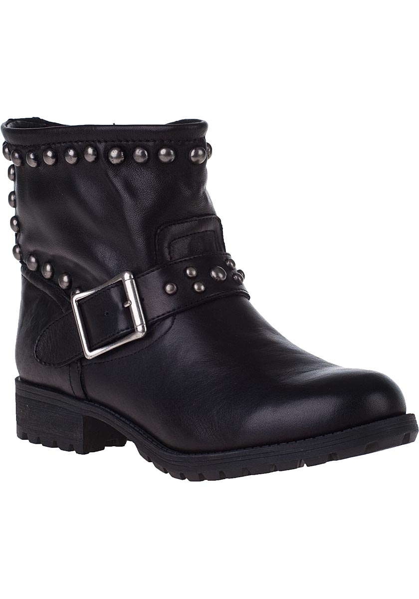 Kelsi dagger brooklyn Max Ankle Boot Black Leather in ...