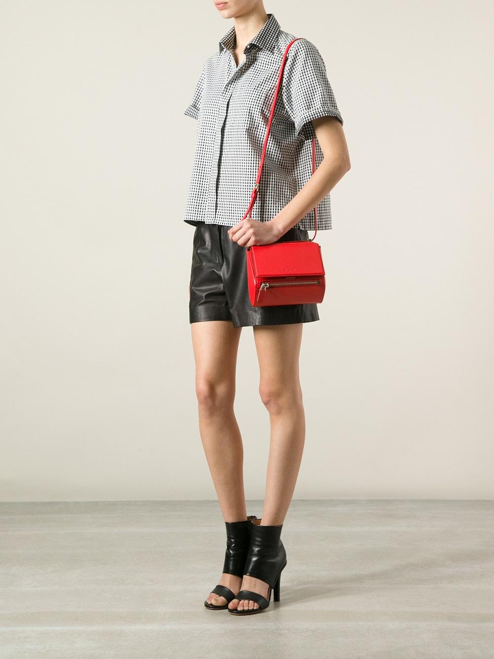 small Pandora tote - Red Givenchy cQc6ZJdQms