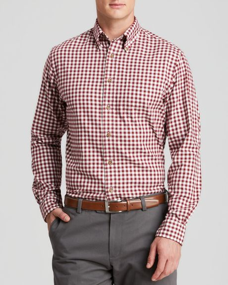 Brooks brothers flannel gingham sport shirt regular fit for Brooks brothers dress shirt fit guide
