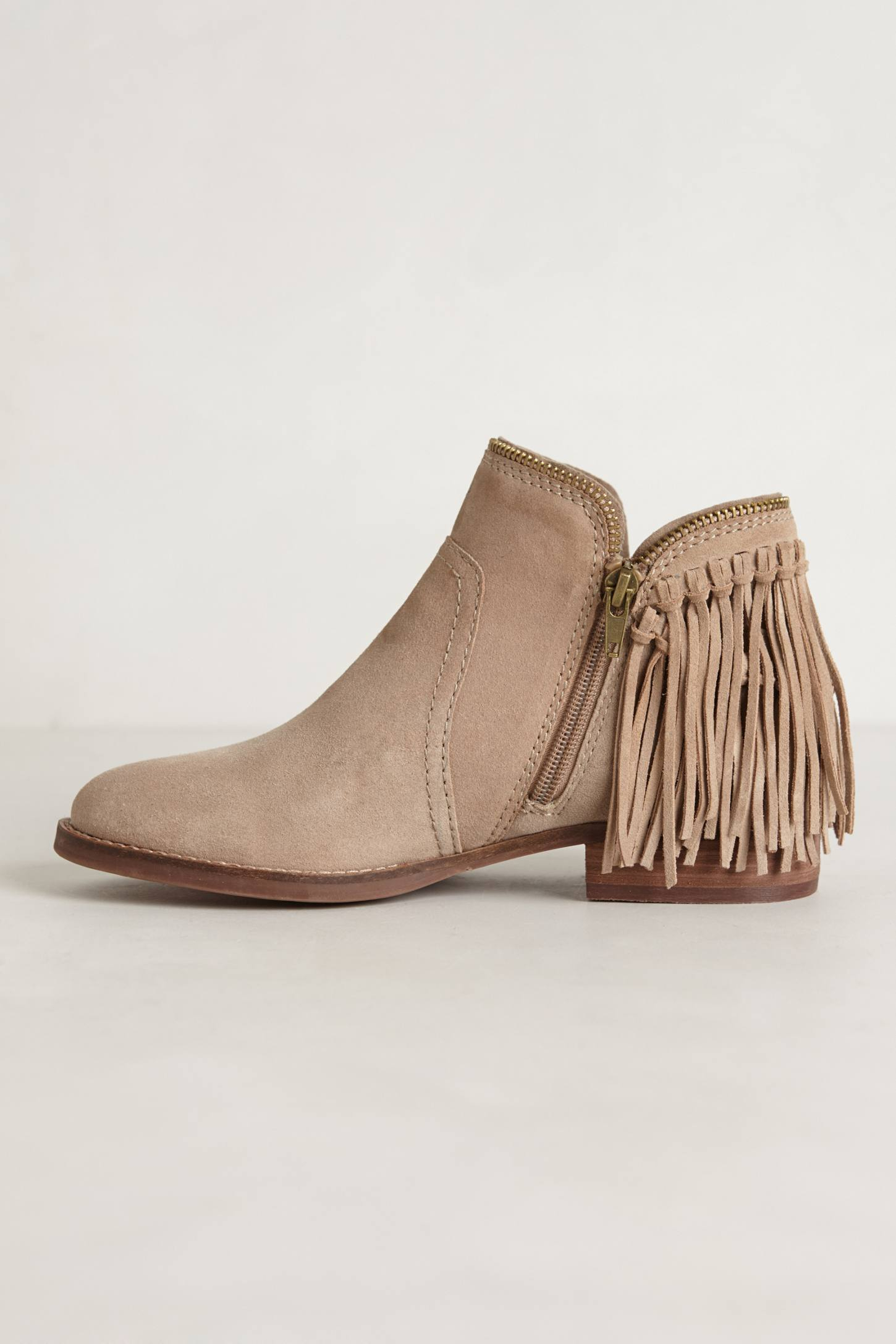 dolce vita dally fringe boots in lyst
