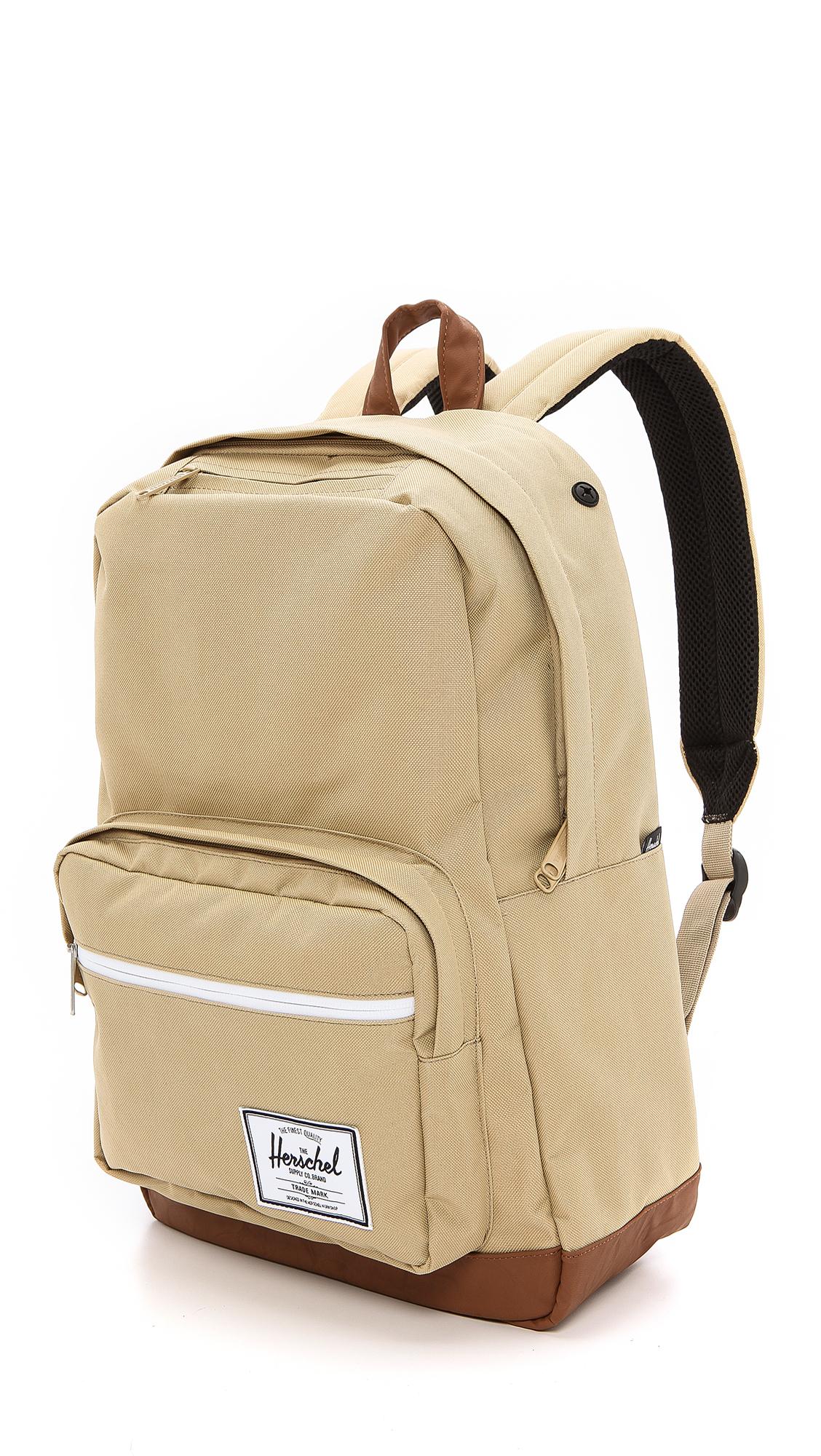 Herschel Supply Co. Pop Quiz Backpack in Khaki (Natural) for Men