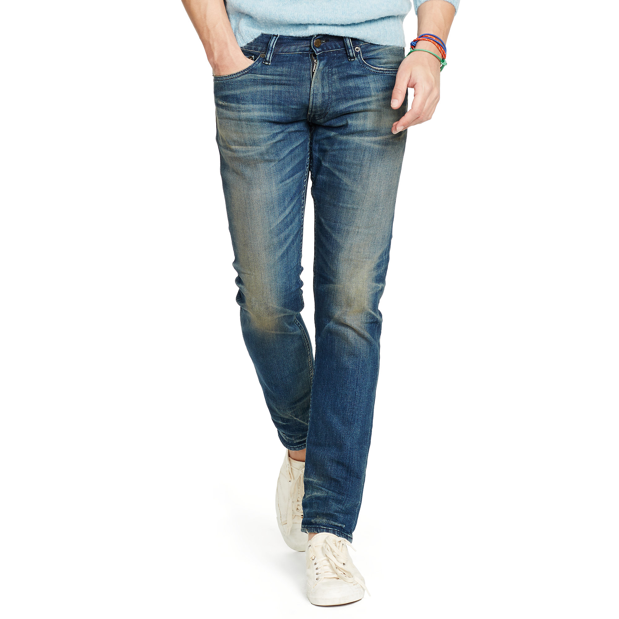 94073f5c93 Polo Ralph Lauren Blue Sullivan Slim-fit Jean for men