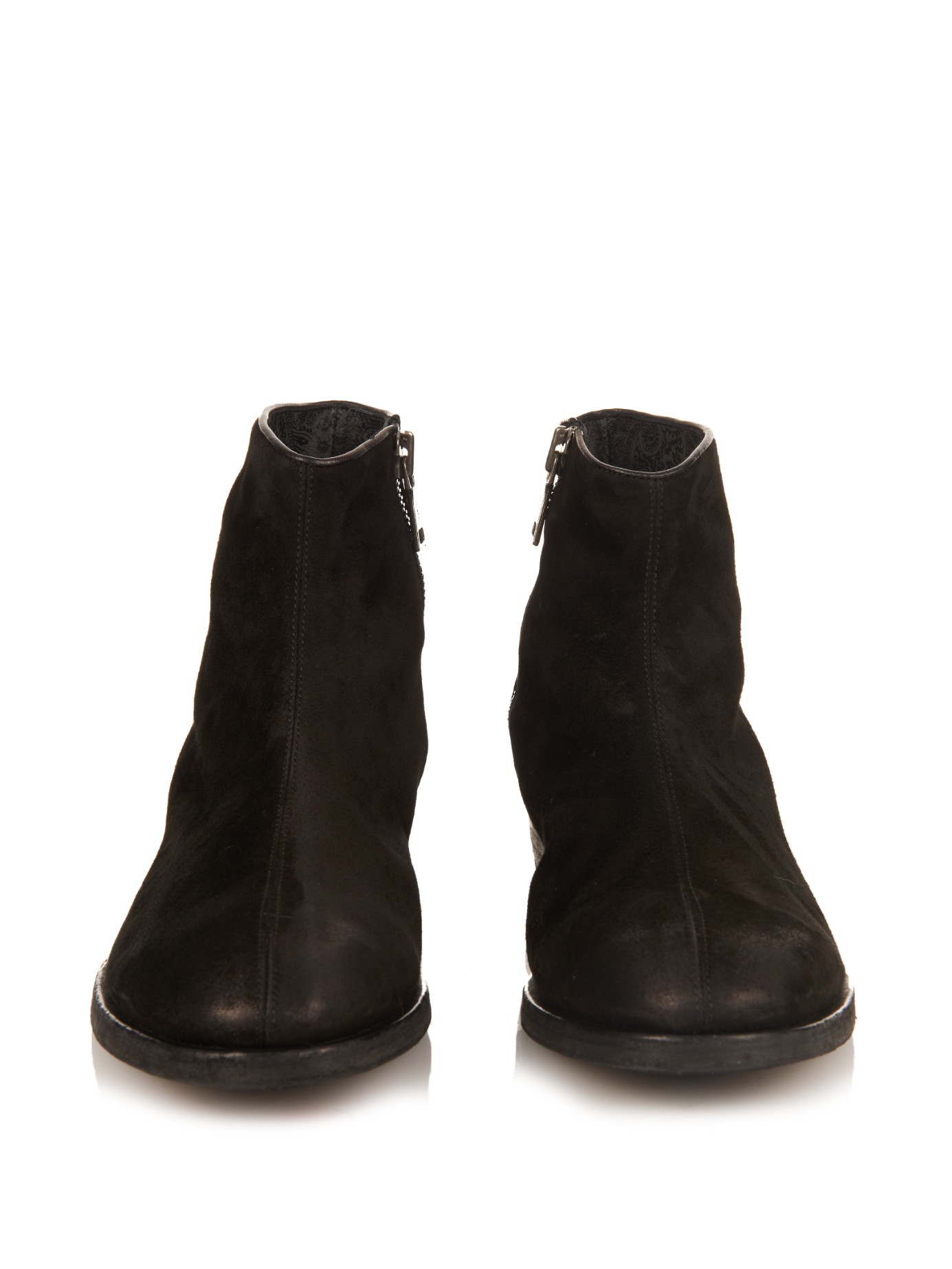Lyst John Varvatos Morrison Boots In Black For Men