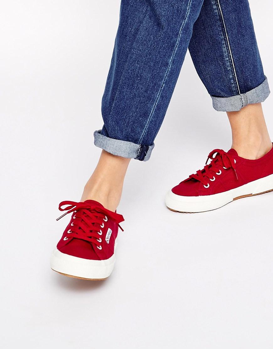 Superga 2750 Classic Scarlet Sneakers