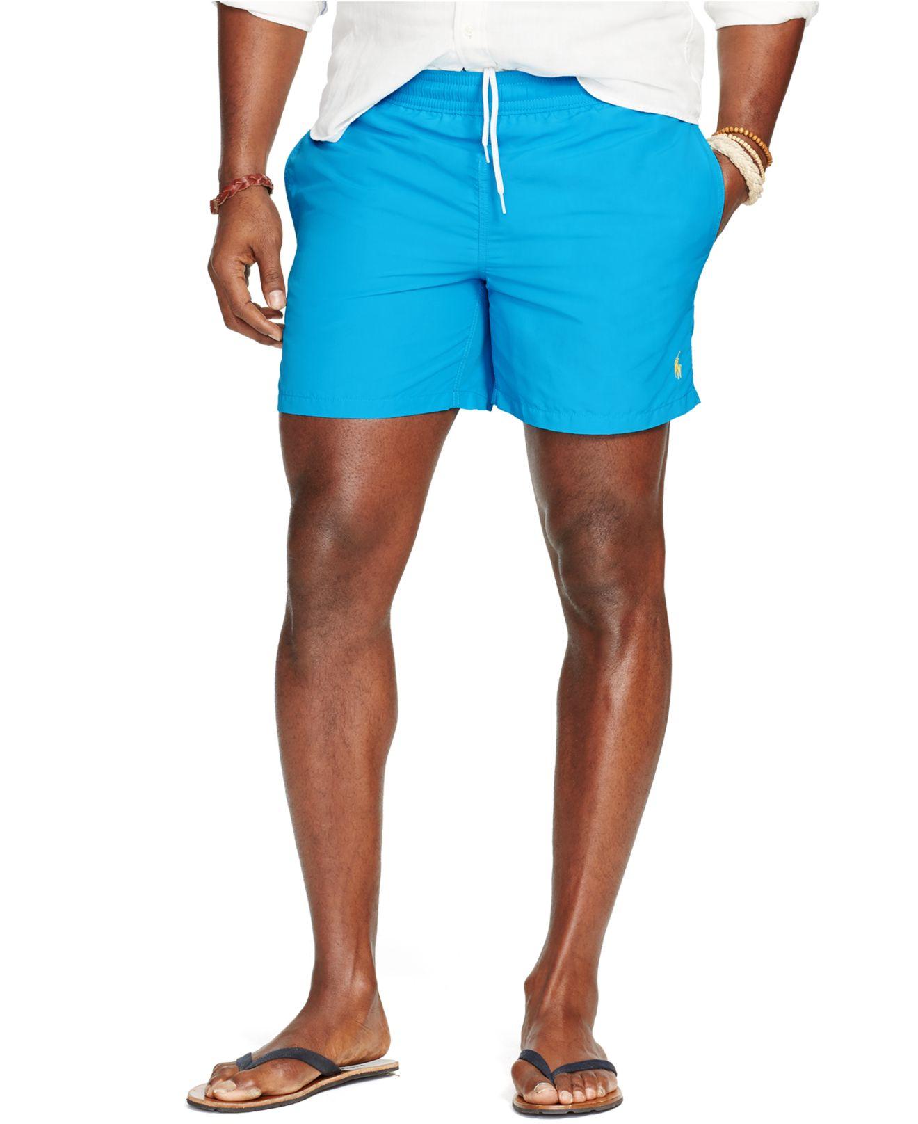 b02135c602 ... shopping lyst polo ralph lauren big and tall nylon hawaiian swim shorts  in d7879 8c752