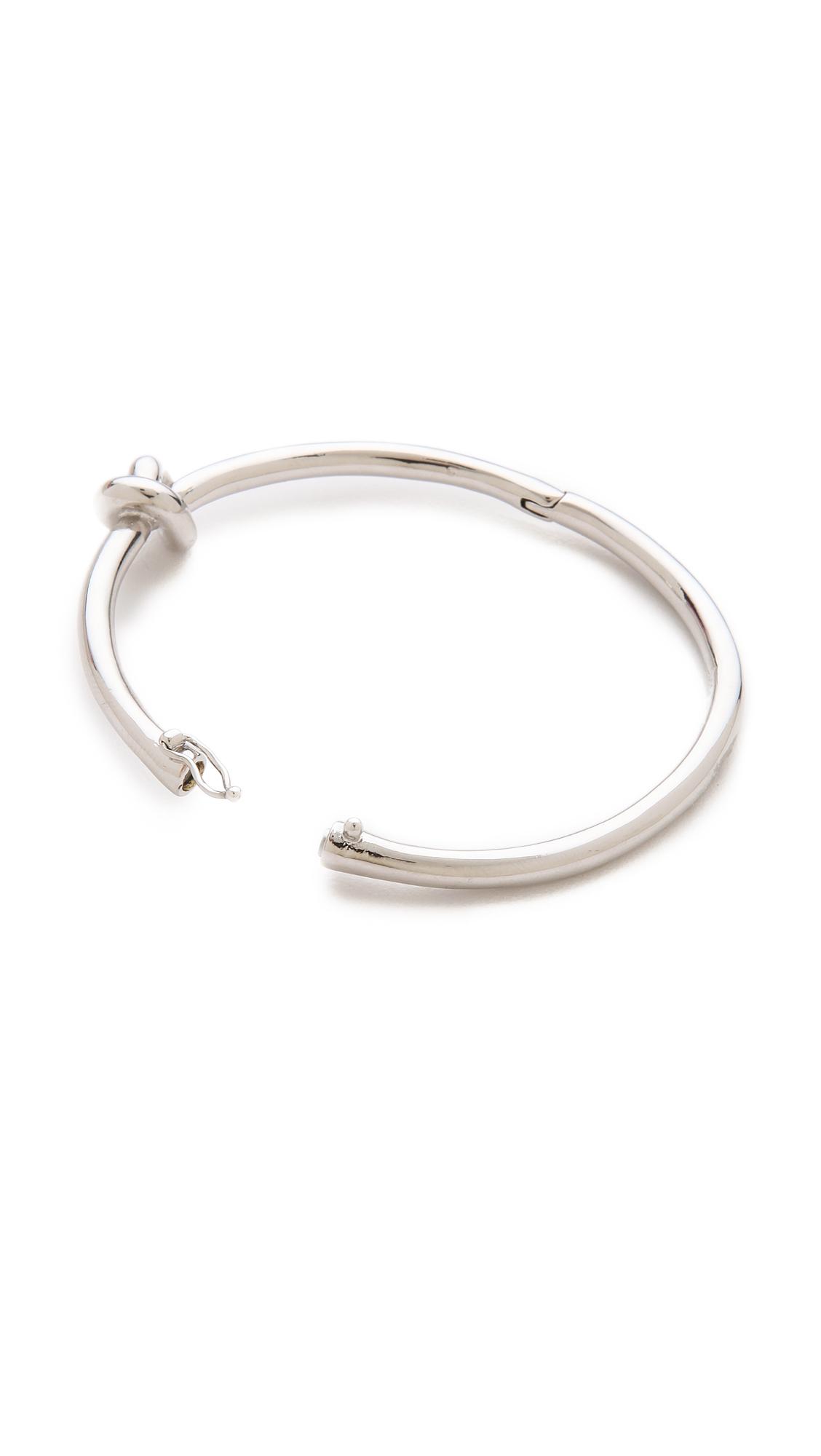 72462c7ff15e8 kate spade new york Metallic Sailor's Knot Bangle Bracelet