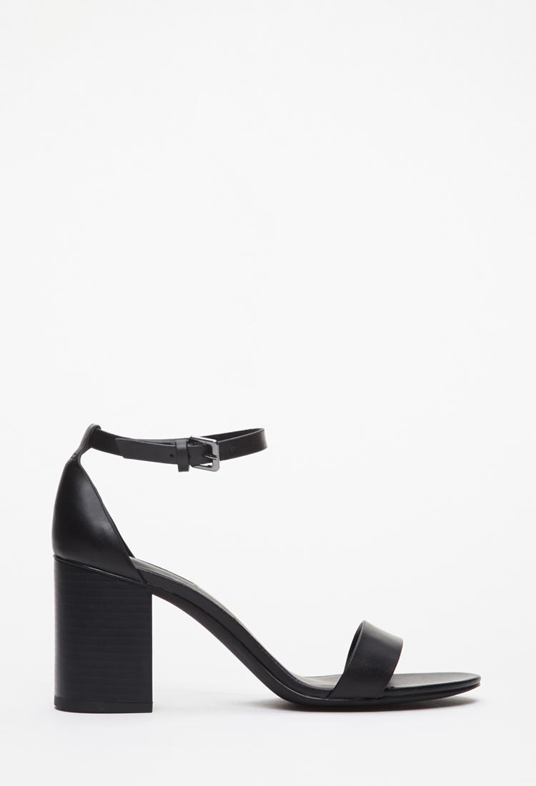 Black Sandals Forever 21