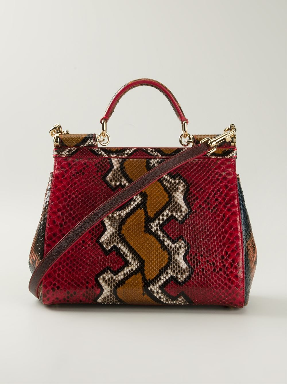 Dolce & Gabbana Sicily Limited-Edition Medium Tote in Red
