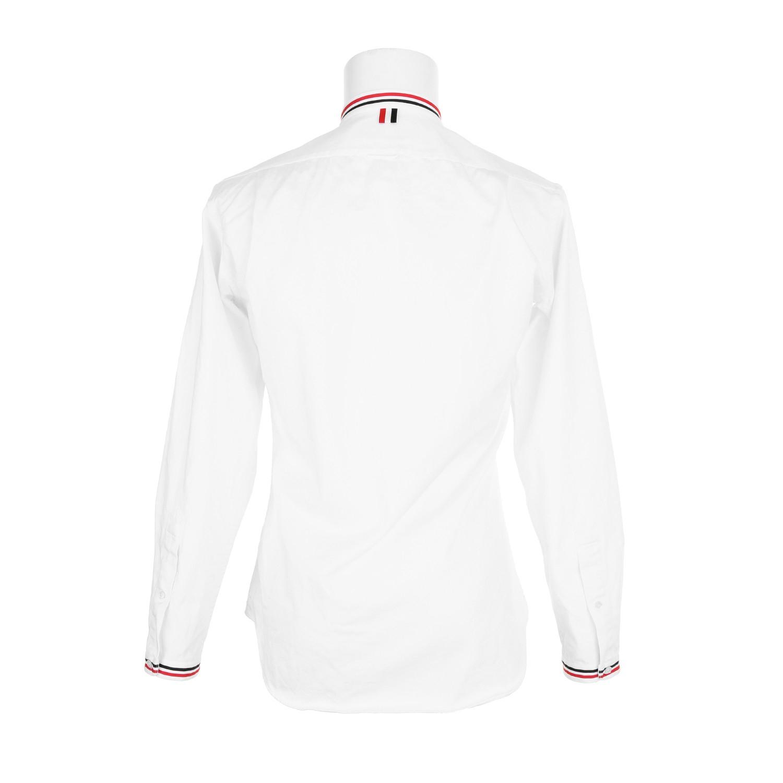 Thom browne white shirt dsquared2 uk for Thom browne white shirt