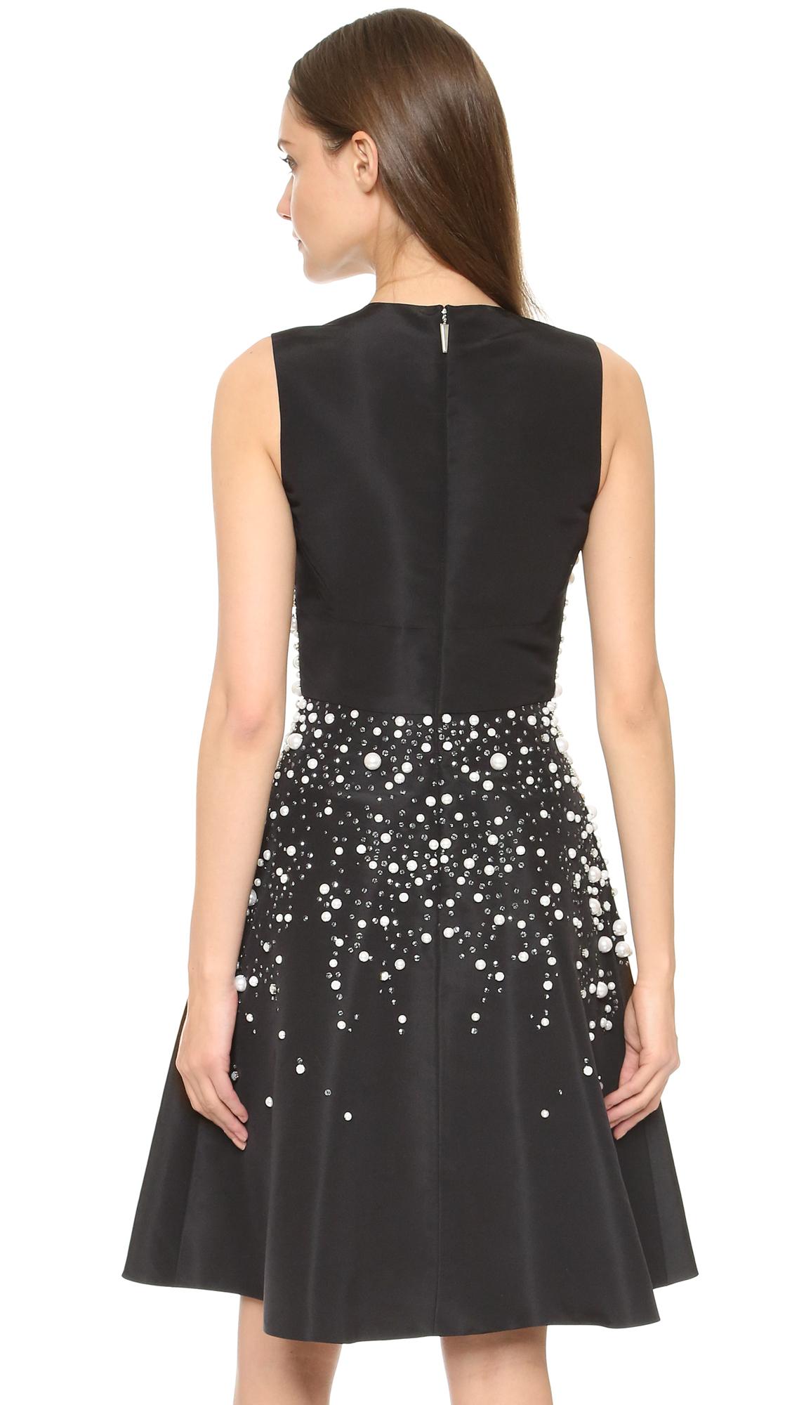 Prabal gurung Sleeveless Dress in Black