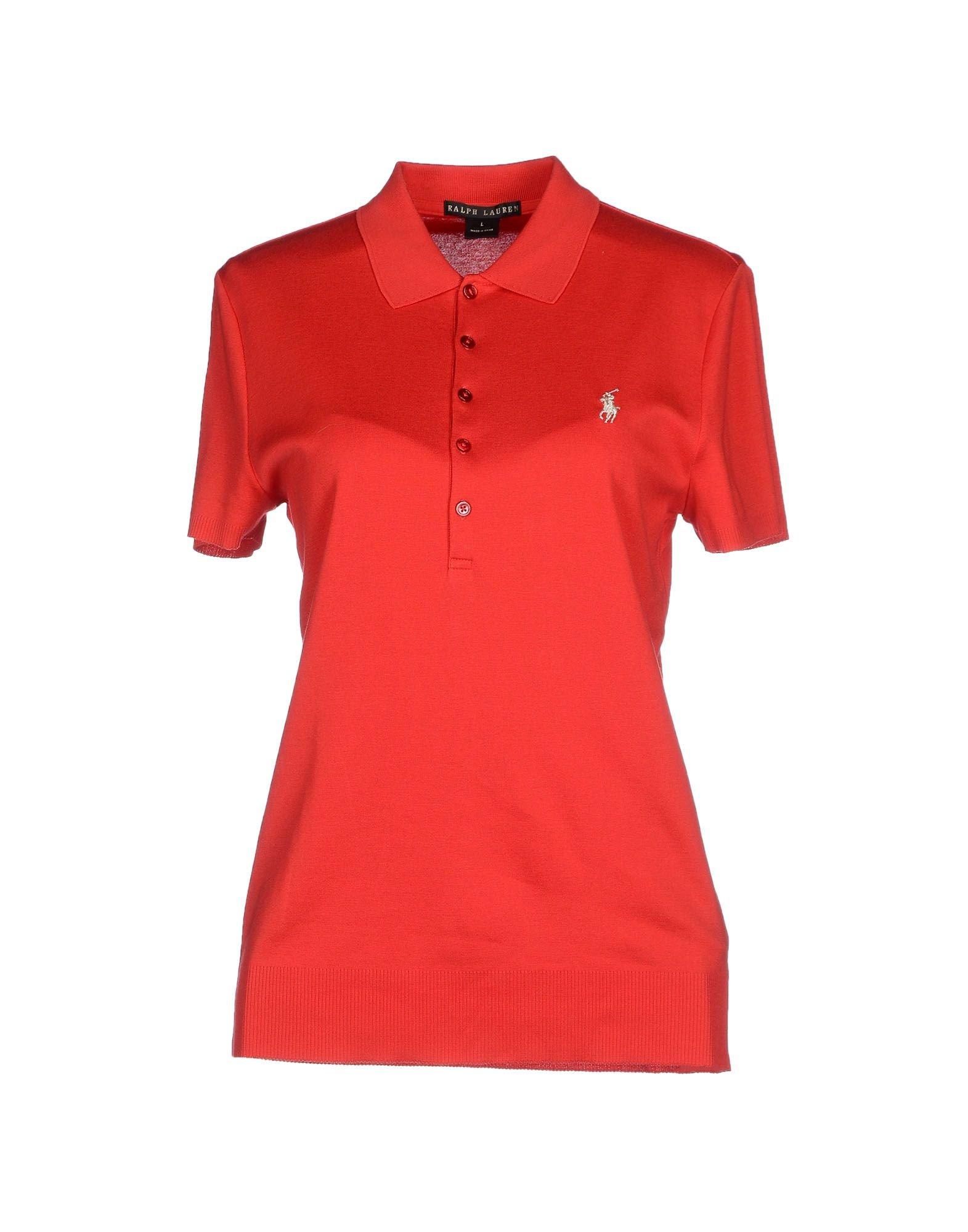 Ralph lauren black label polo shirt in red lyst for Ralph lauren black label polo shirt