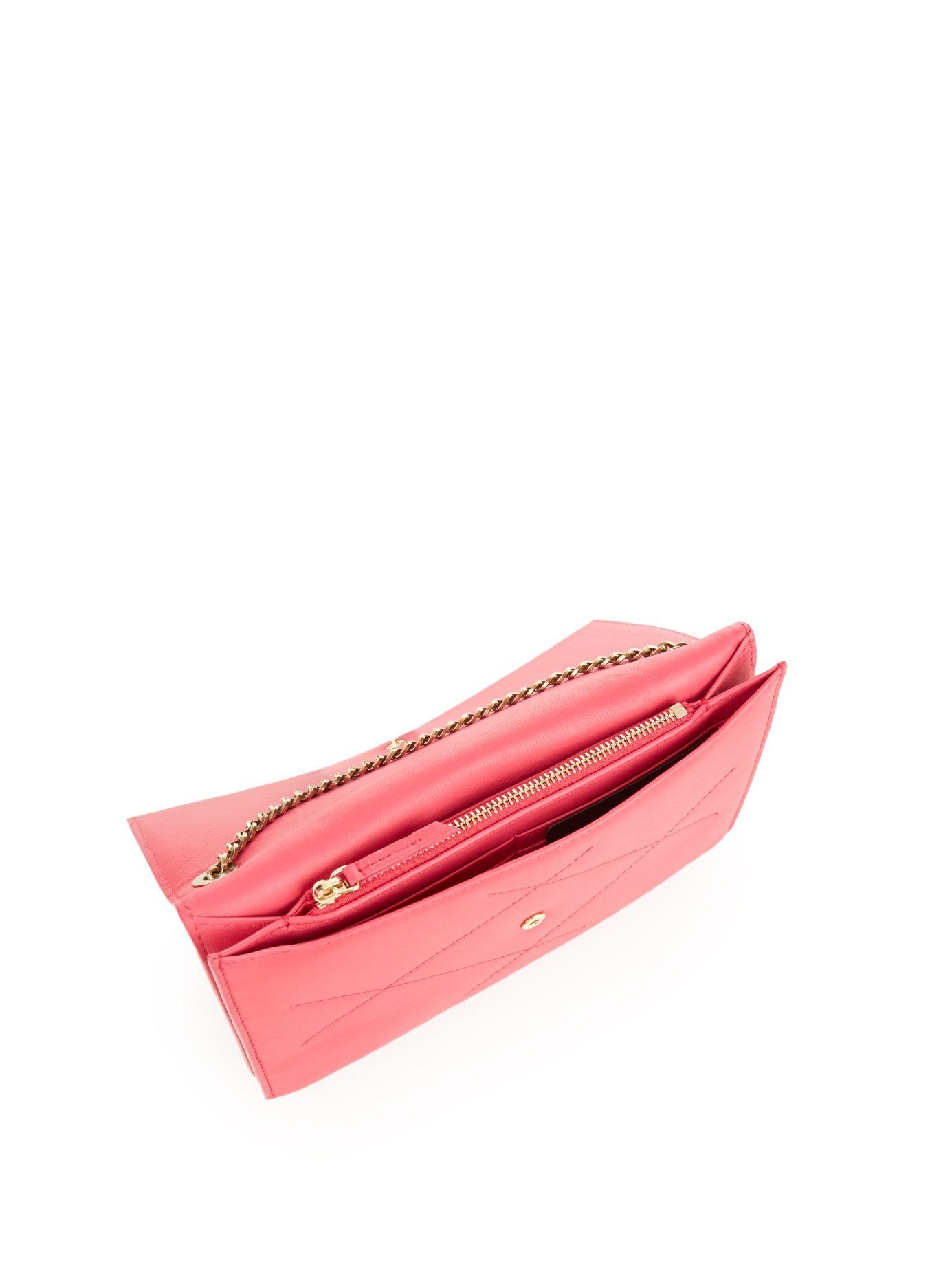 Lanvin Sugar Quilted Cross-body Bag in Pink
