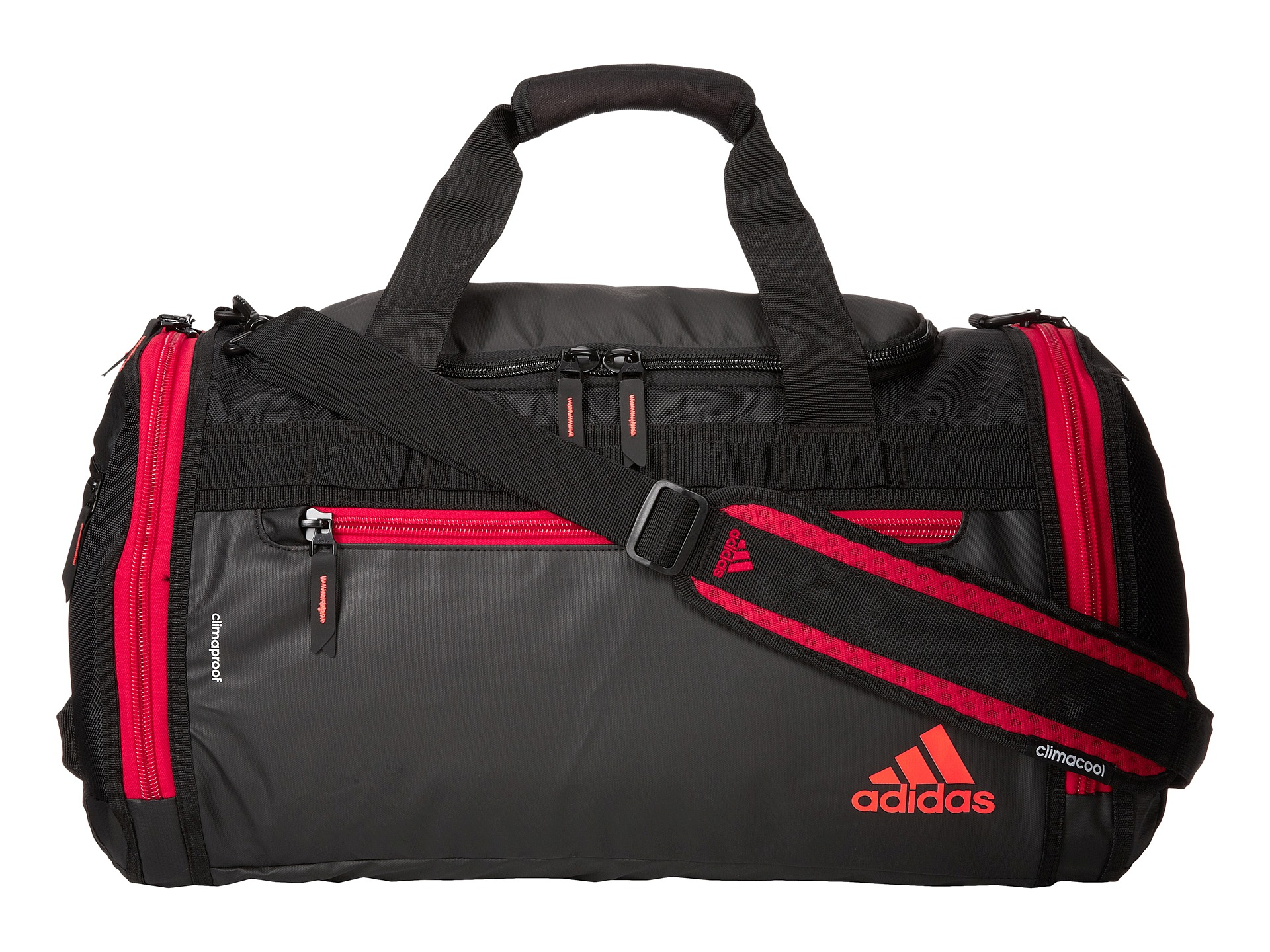 cffb8243ee0e Lyst - Adidas Climaproof Menace Duffel in Red for Men