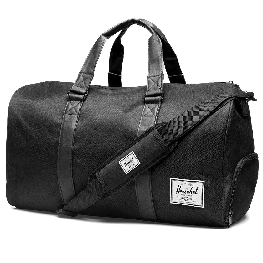 Herschel supply co. All Black Novel Duffel Bag in Black for Men | Lyst