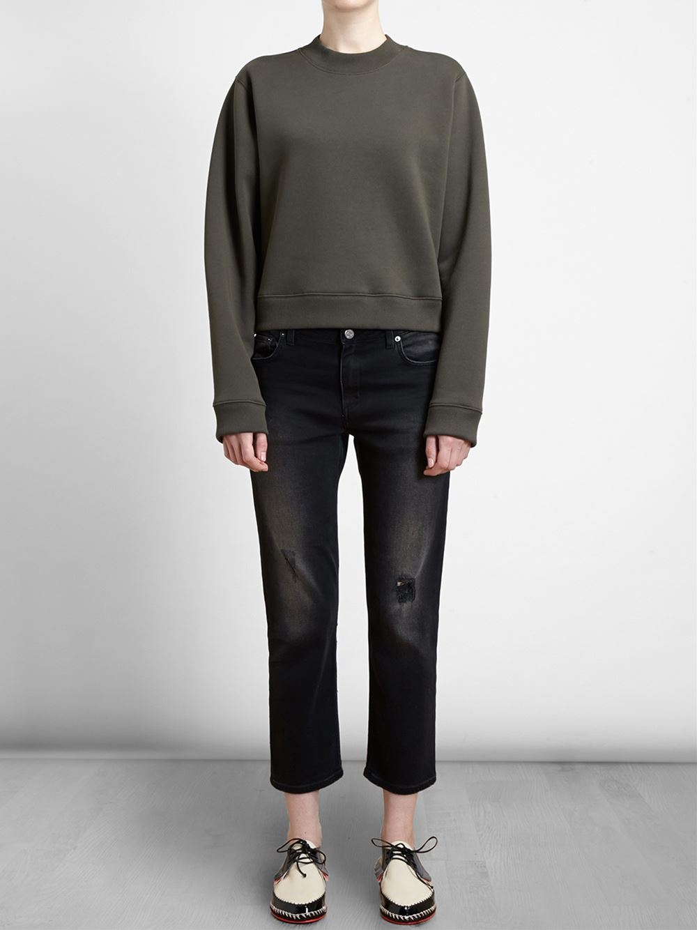 Acne Studios 'Pop' Jeans in Black