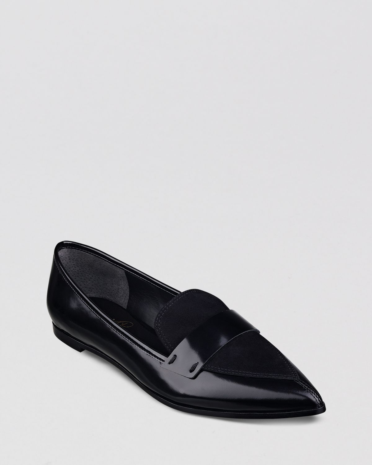 Black Patent Leather Shoes Flats