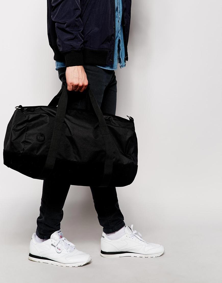 e3d2413121 Lyst - Mi-Pac Classic All Black Duffle Bag in Black for Men