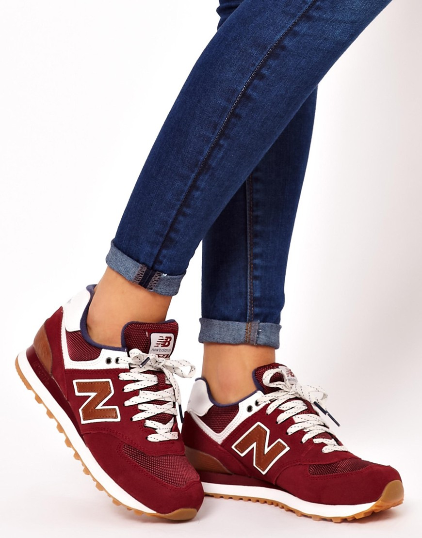 ... burgundy shoes 3ecad d9a37 coupon code for gallery. womens new balance  574 126be c1bd4 ... 0454b6efb2