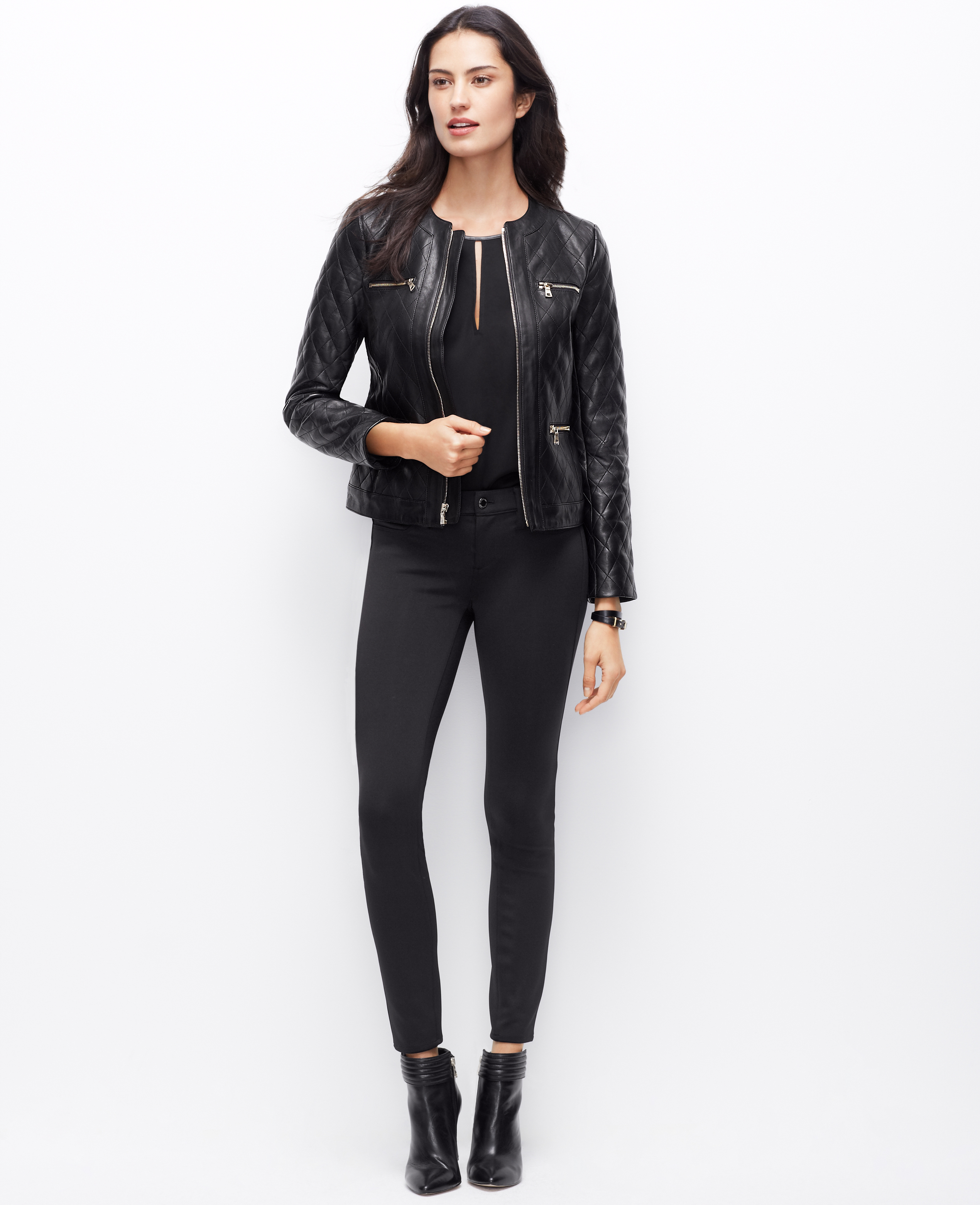 Petite womens leather jackets