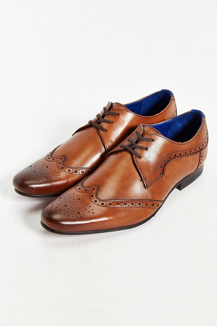 Mens Hann 2 Derby Brogue Shoes Ted Baker 4x7ltbZWD