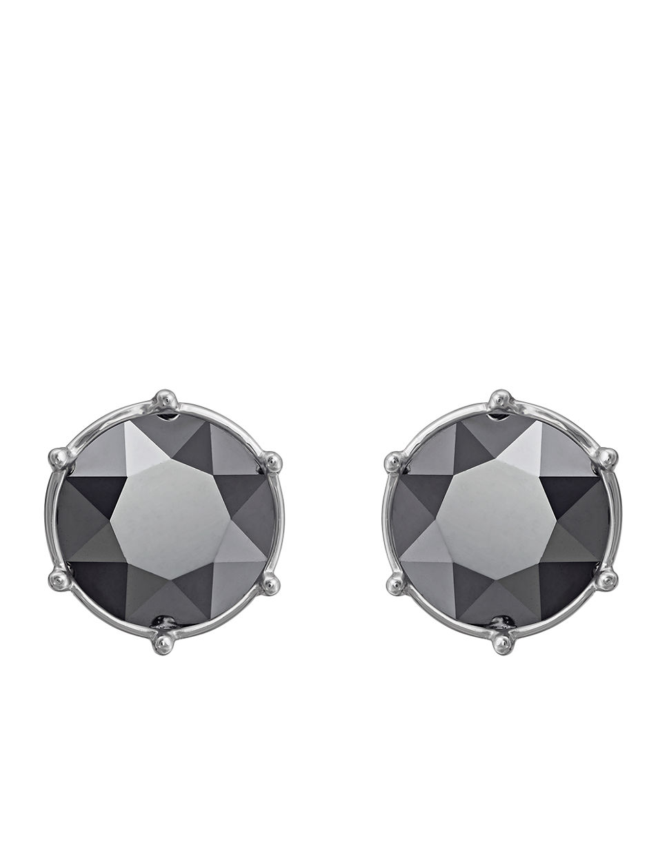 earrings black stud products silver and grace earring studs grayling swarovski crystal