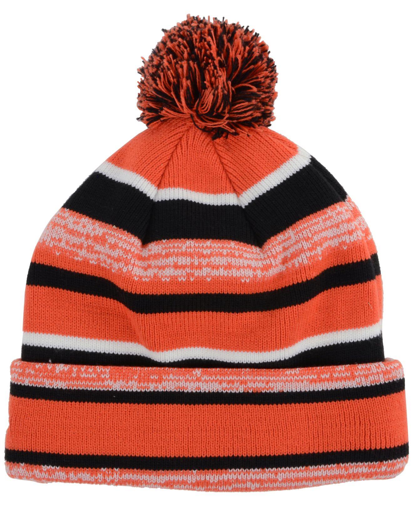 Lyst - KTZ Oklahoma State Cowboys Sport Knit Hat in Orange for Men 3d74900385a