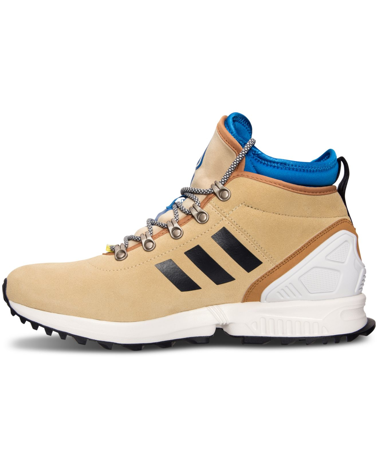 best sneakers e8c34 3a042 ... purchase trainers 0ea92 5ef55 inexpensive lyst adidas mens originals zx  flux winter sneakerboots from 69364 e2dcc