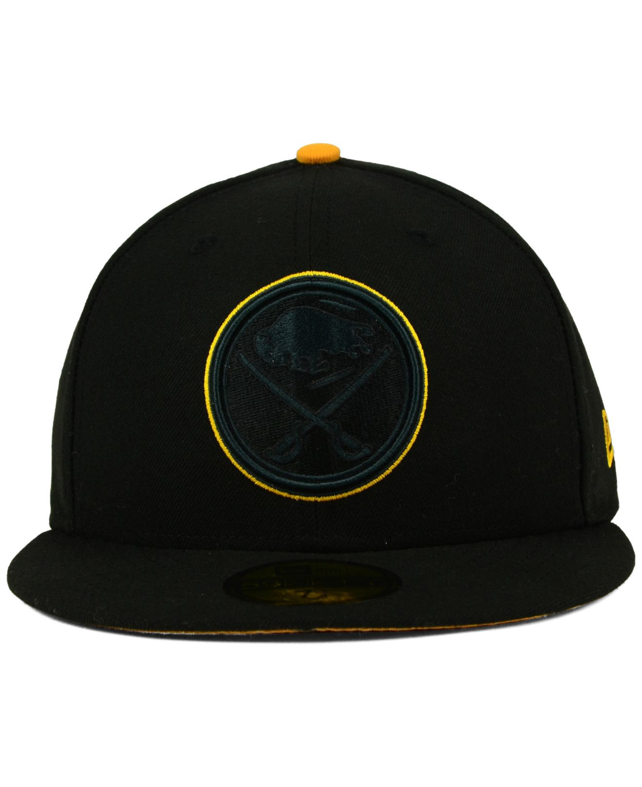 b90d24ee4da ... norway lyst ktz buffalo sabres pop flip 59fifty cap in black for men  6d675 6e1e3