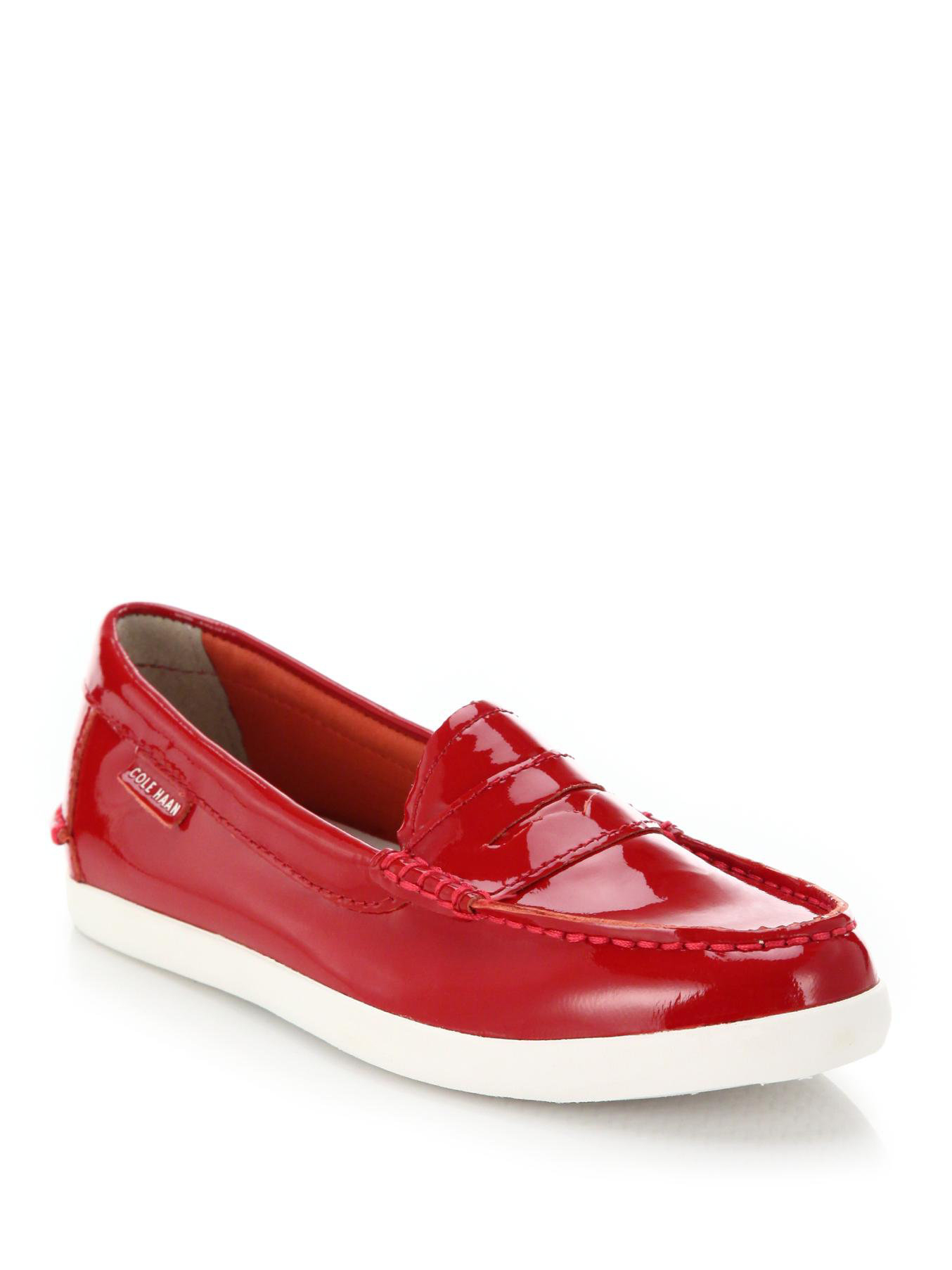 Cole Haan Red Patent Leather Shoes
