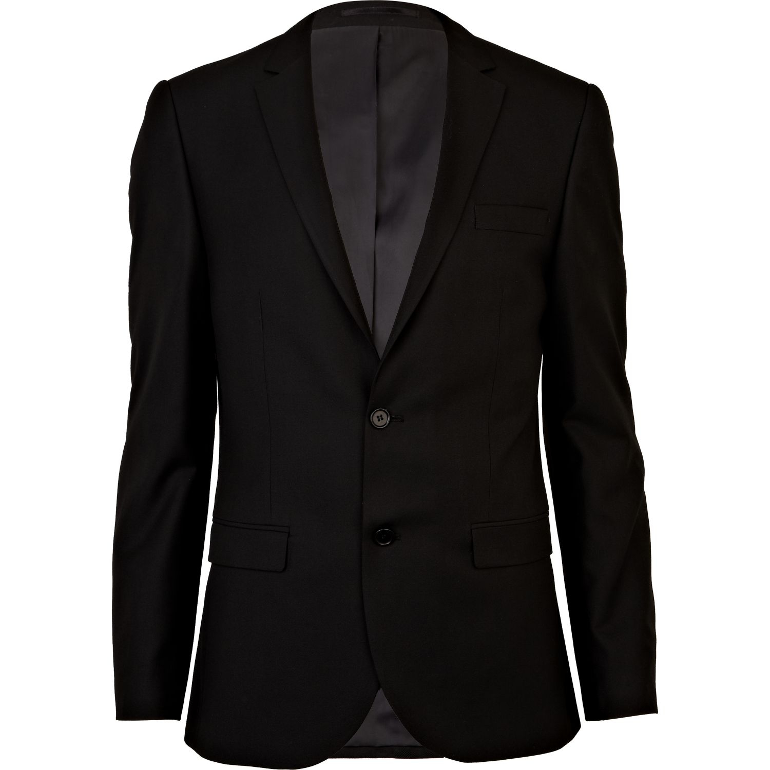 [Event 1991] Halloween approche ! River-island-black-black-slim-suit-jacket-product-1-18045870-0-564196197-normal