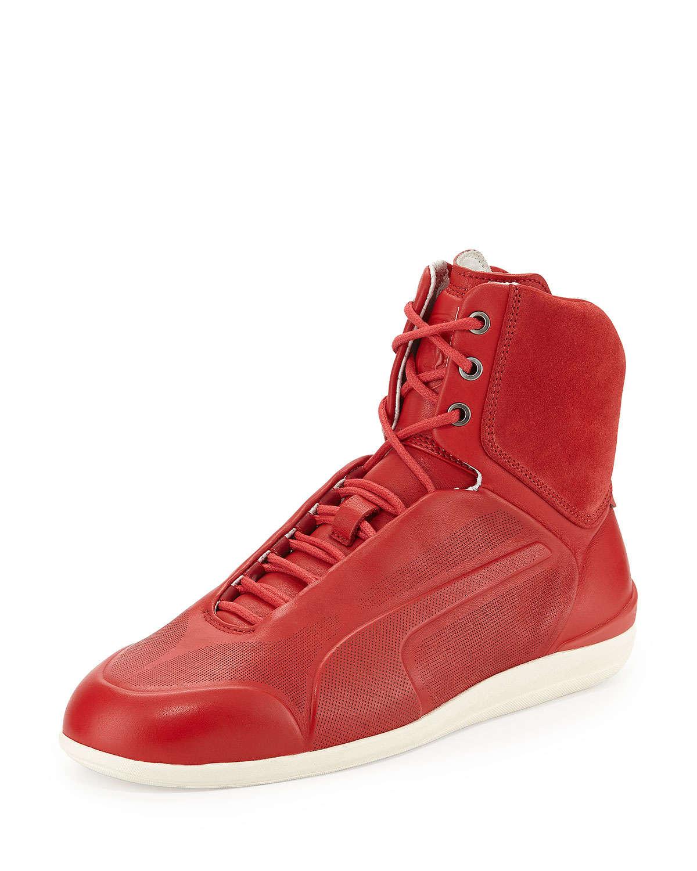 puma high tops red