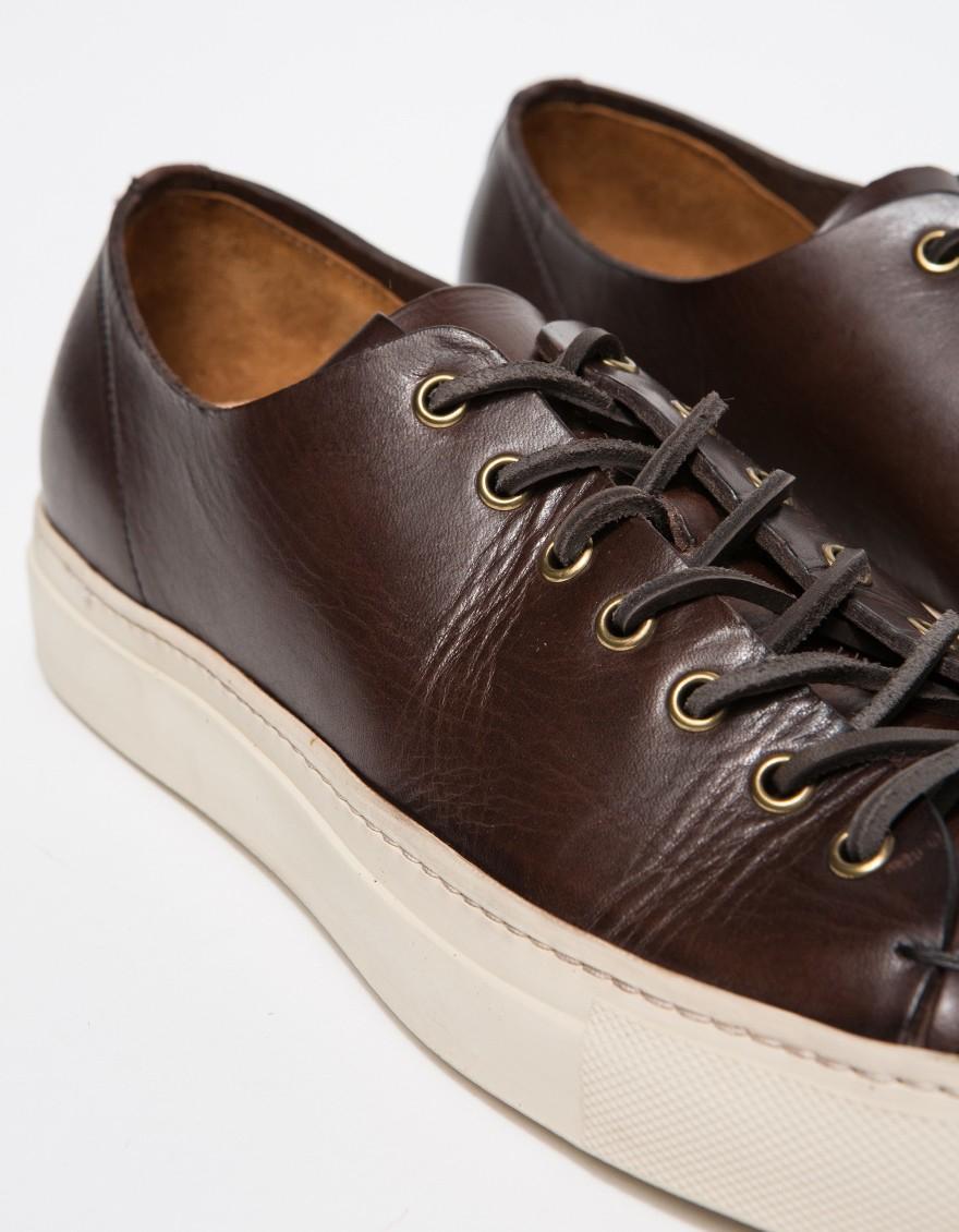 low top sneakers - Brown Buttero VdHNuF