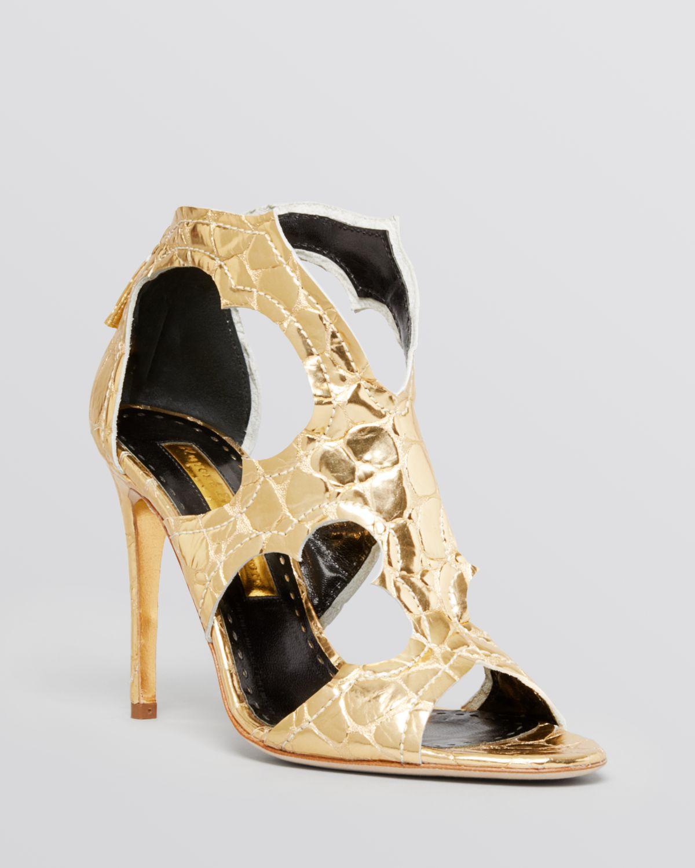 Estelle Mirrored Cutout High Heel in
