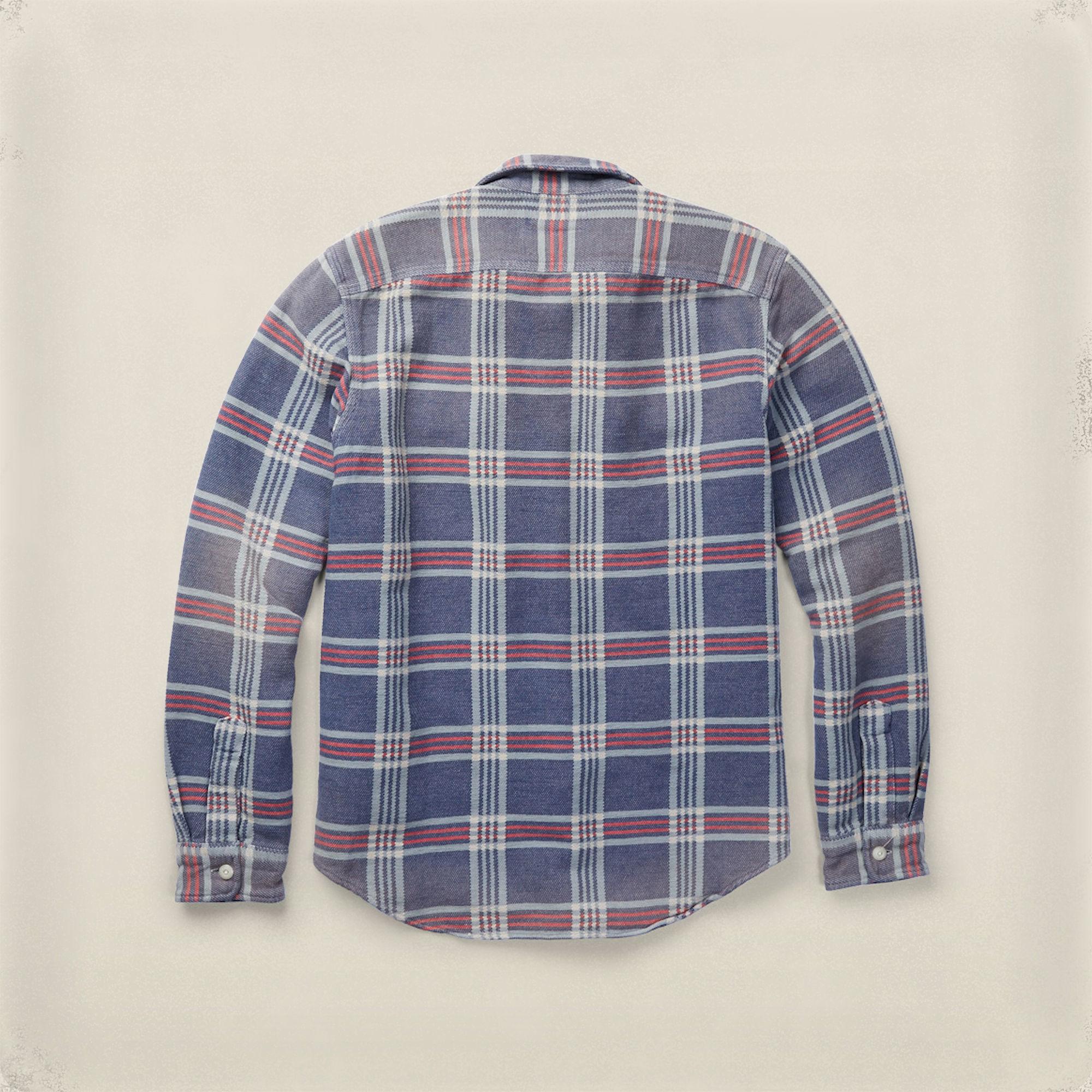 RRL Cotton Matlock Plaid Workshirt for Men