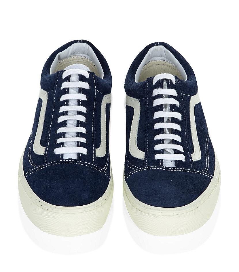 Skool Lyst Men In Vintage Old Blue Vans For Shoes qpwzPPf5 25f055eaae