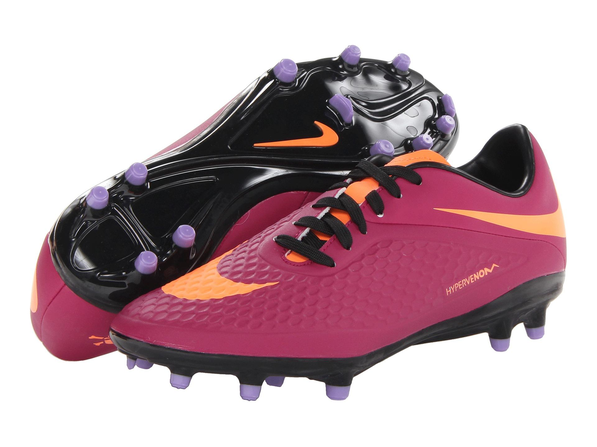 new products fd662 e7d08 Nike Pink Hypervenom Phelon Fg