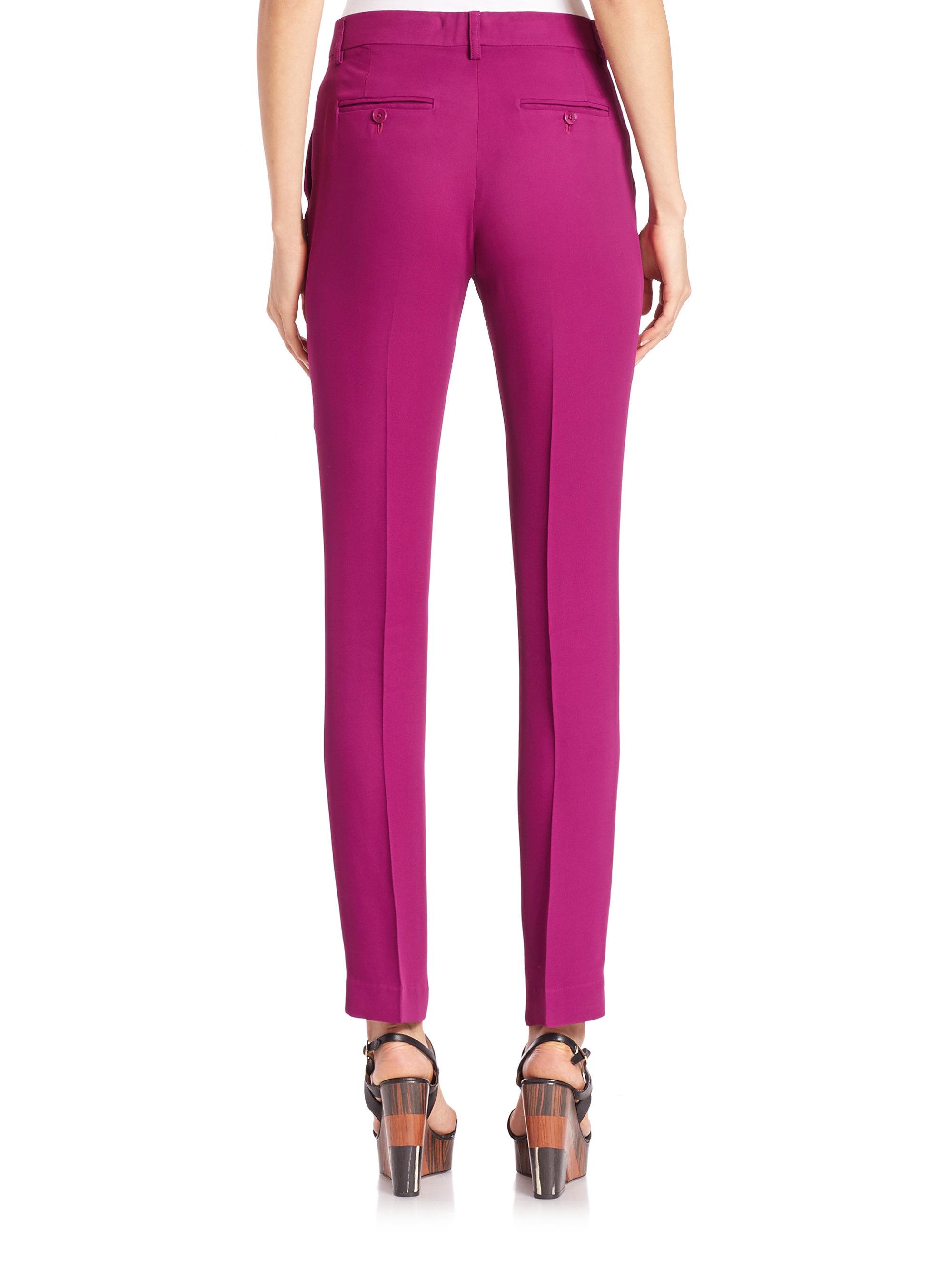Purple Skinny Jeans For Women