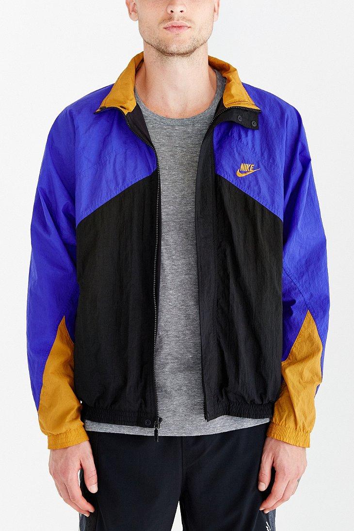 99e4c4e2171a Lyst - Without Walls Vintage Nike Colorblock Windbreaker Jacket in Blue
