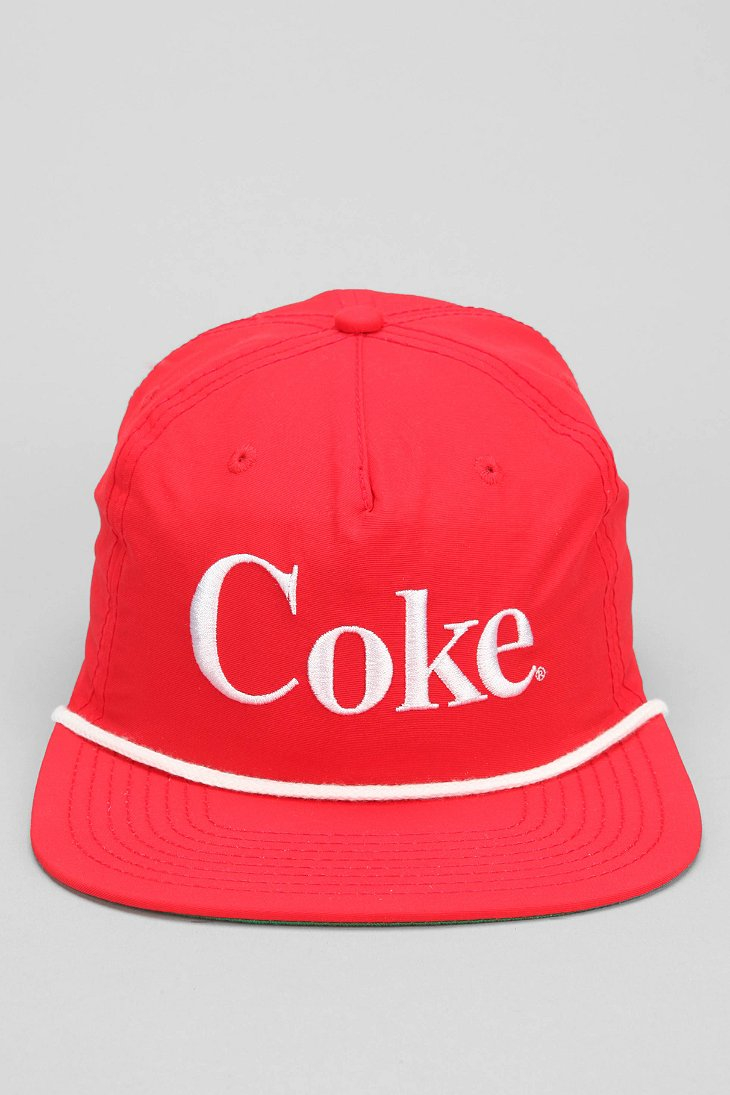 Lyst - Urban Outfitters Coke Snapback Hat in Red for Men 0caddfc3896