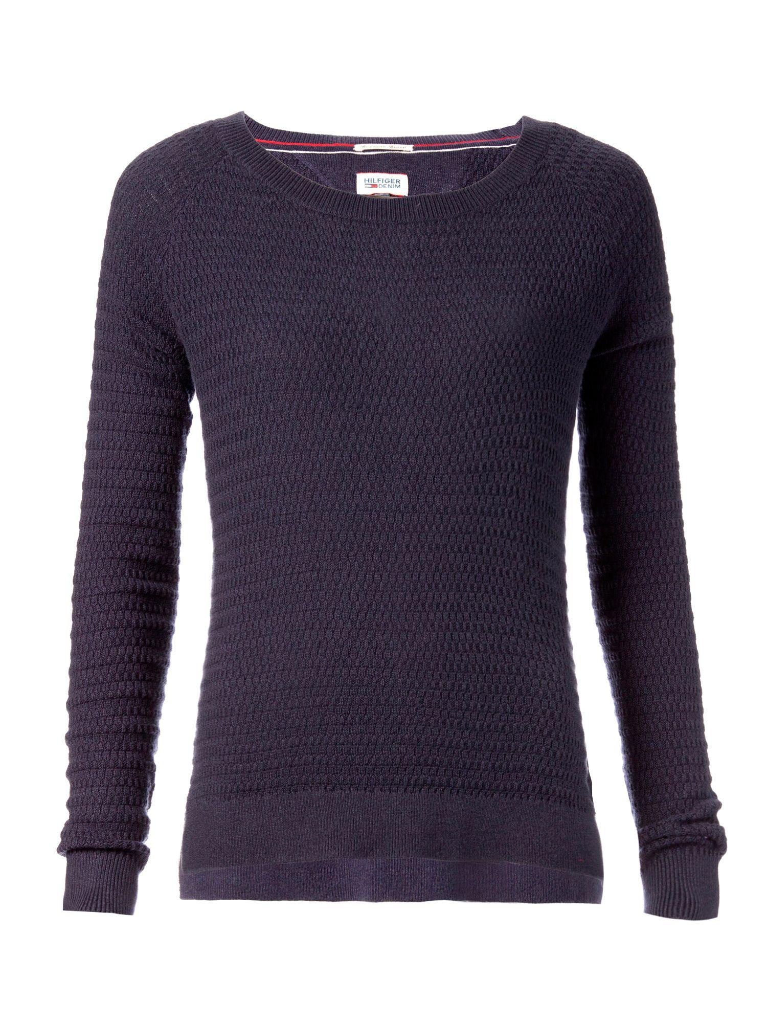 tommy hilfiger sada sweater in purple blue lyst. Black Bedroom Furniture Sets. Home Design Ideas